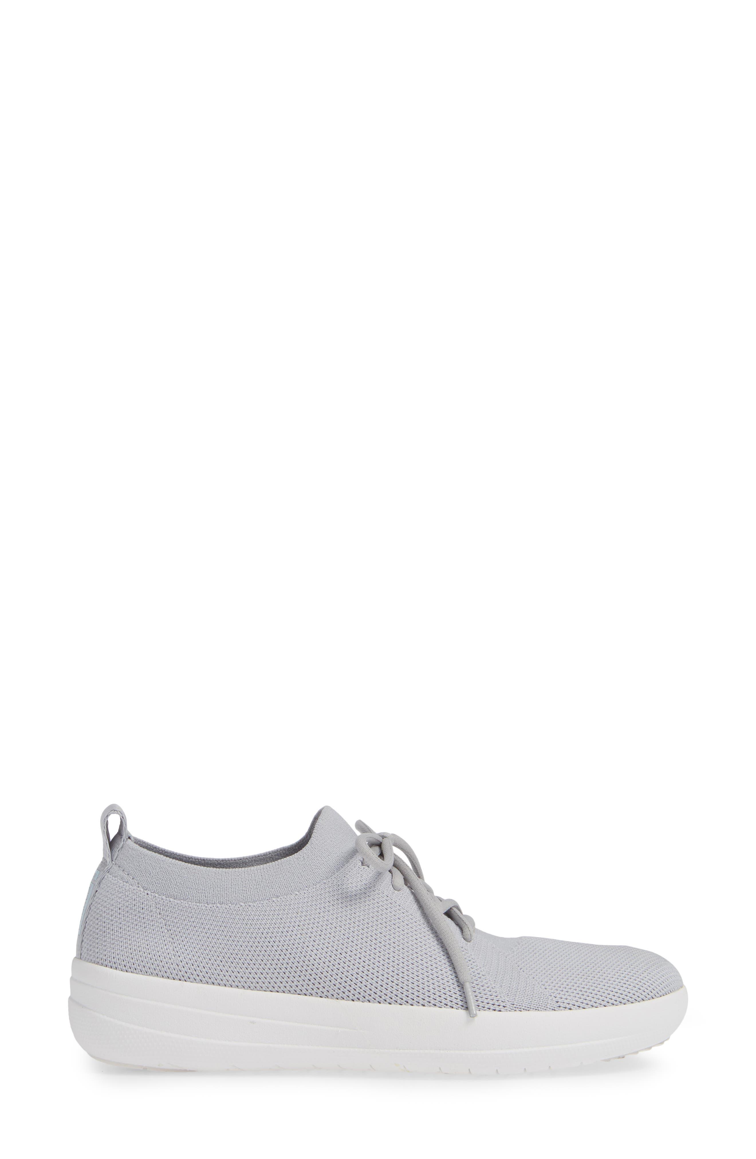 F-Sporty Uberknit<sup>™</sup> Sneaker,                             Alternate thumbnail 3, color,                             PEARL FABRIC