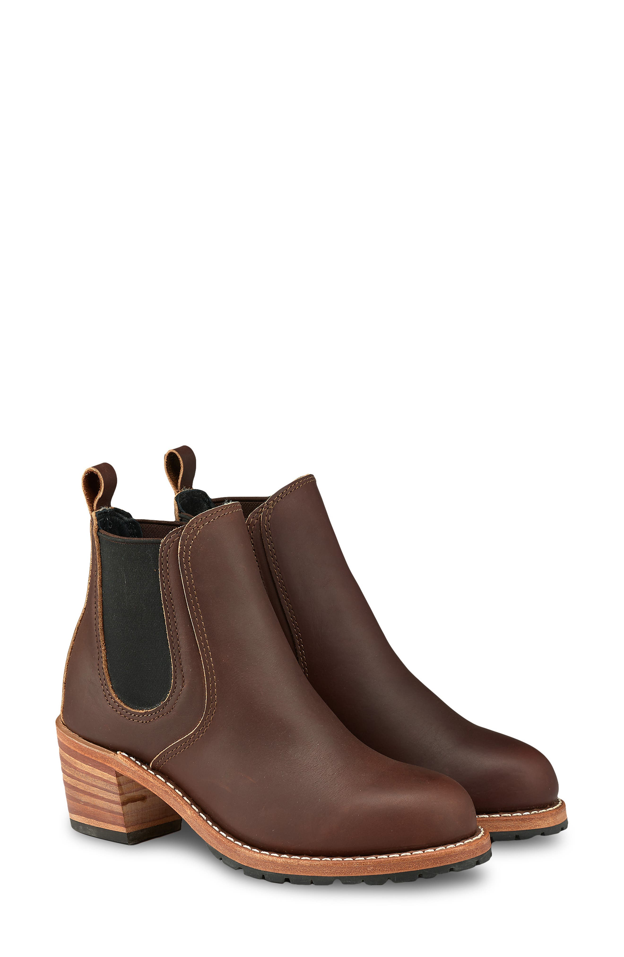RED WING Harriet Boot in Mahogany Leather