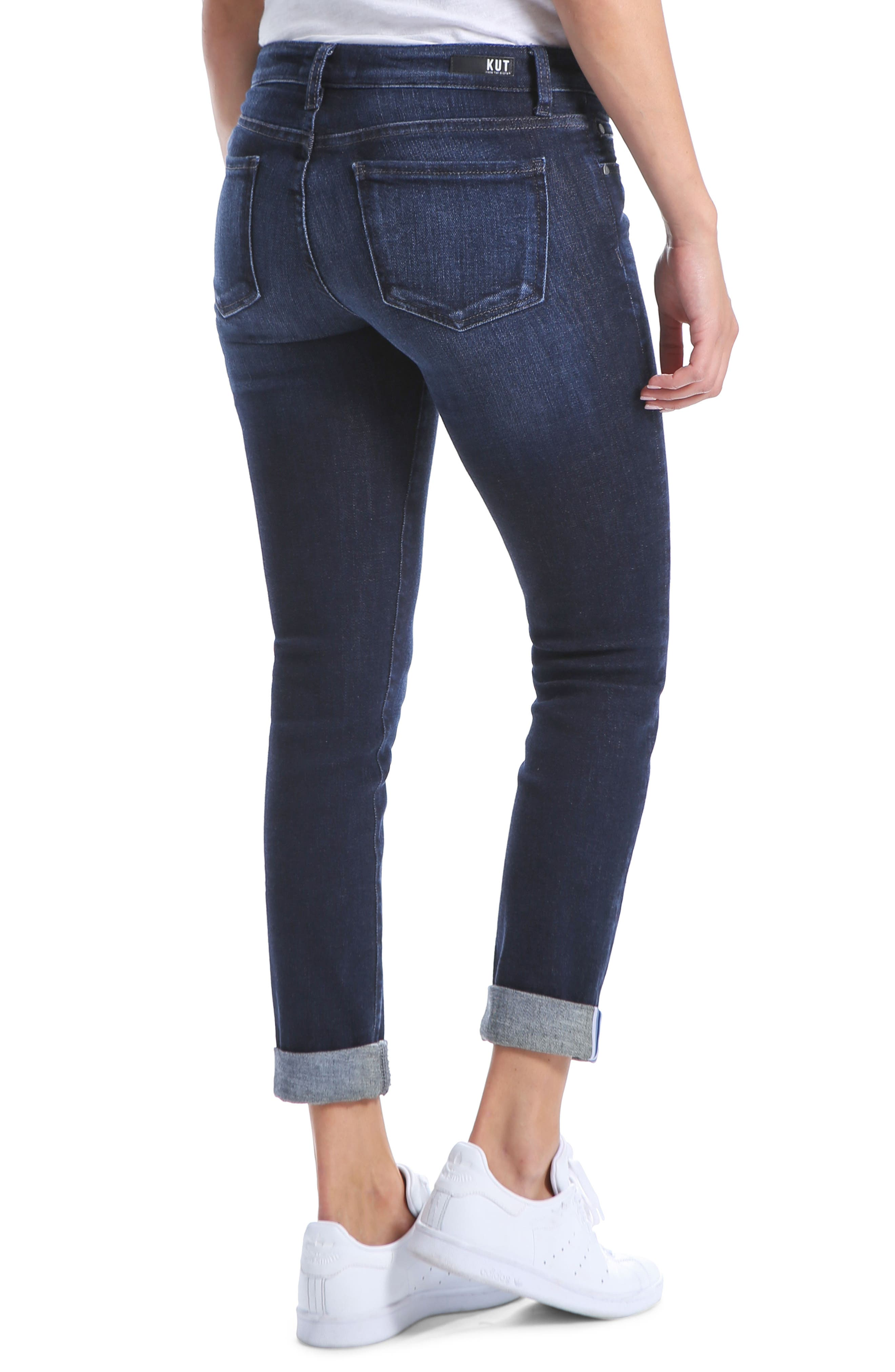 Catherine Slim Boyfriend Jeans,                             Alternate thumbnail 2, color,                             477