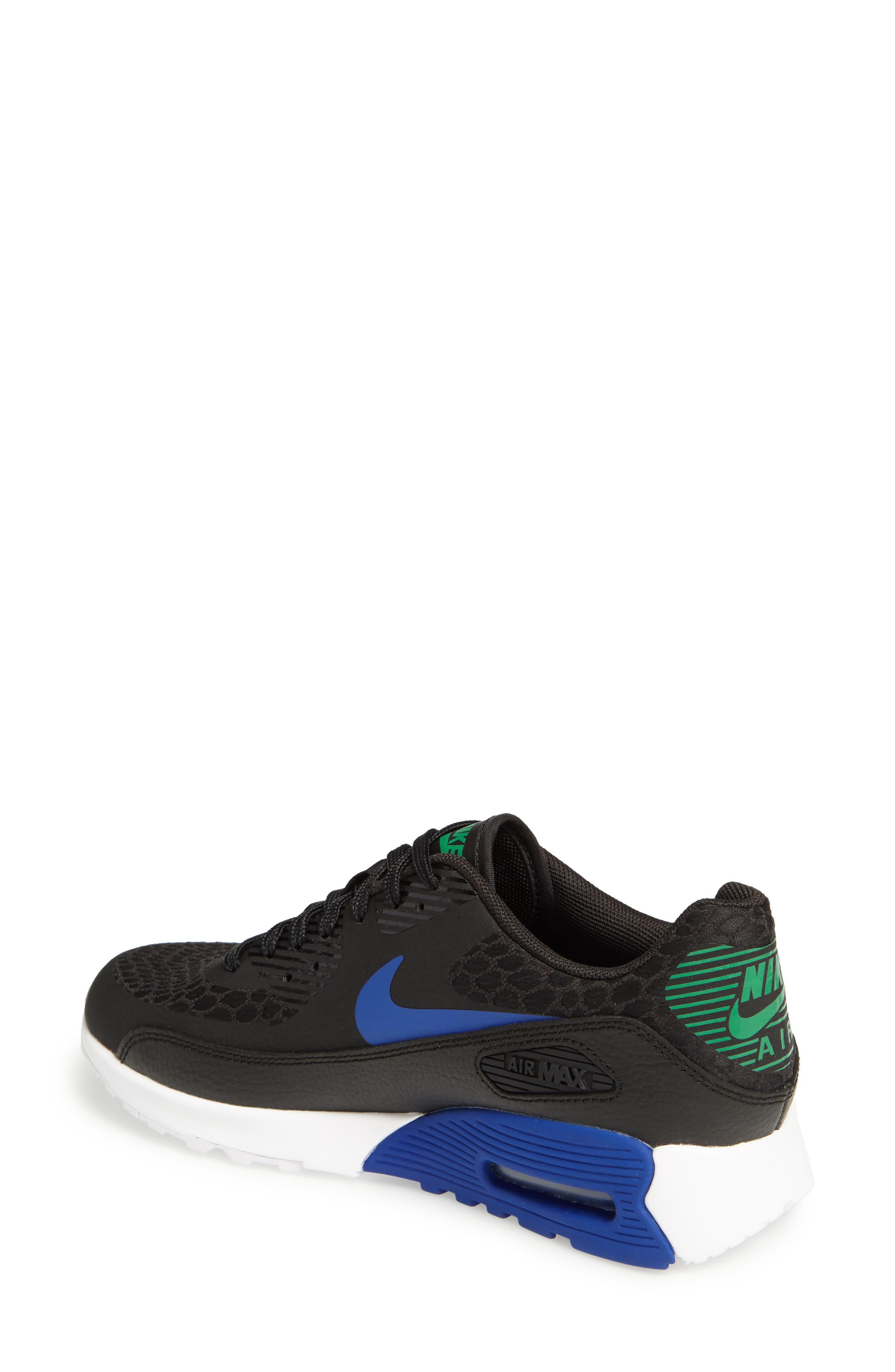Air Max 90 Ultra 2.0 Sneaker,                             Alternate thumbnail 2, color,                             001