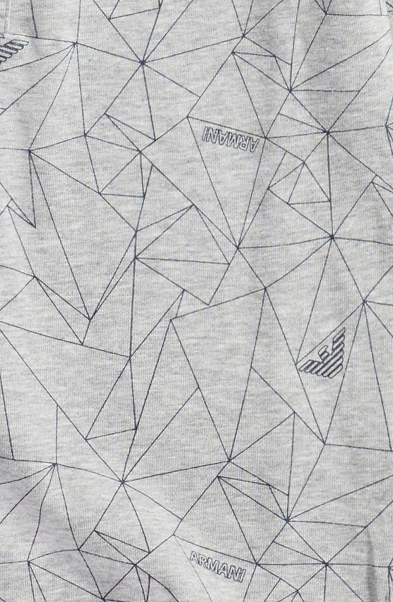 Geo Print Long Sleeve Polo,                             Alternate thumbnail 2, color,                             084