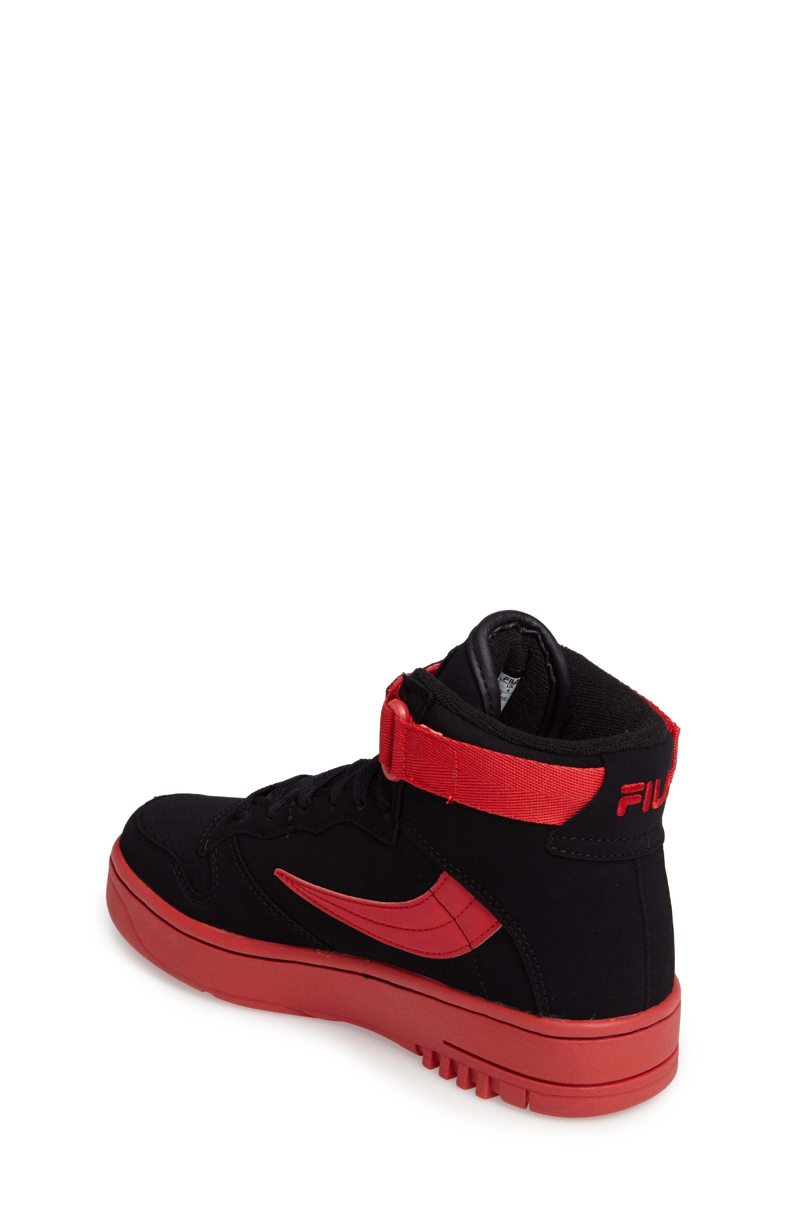 USA FX-100 High Top Sneaker,                             Alternate thumbnail 3, color,                             001