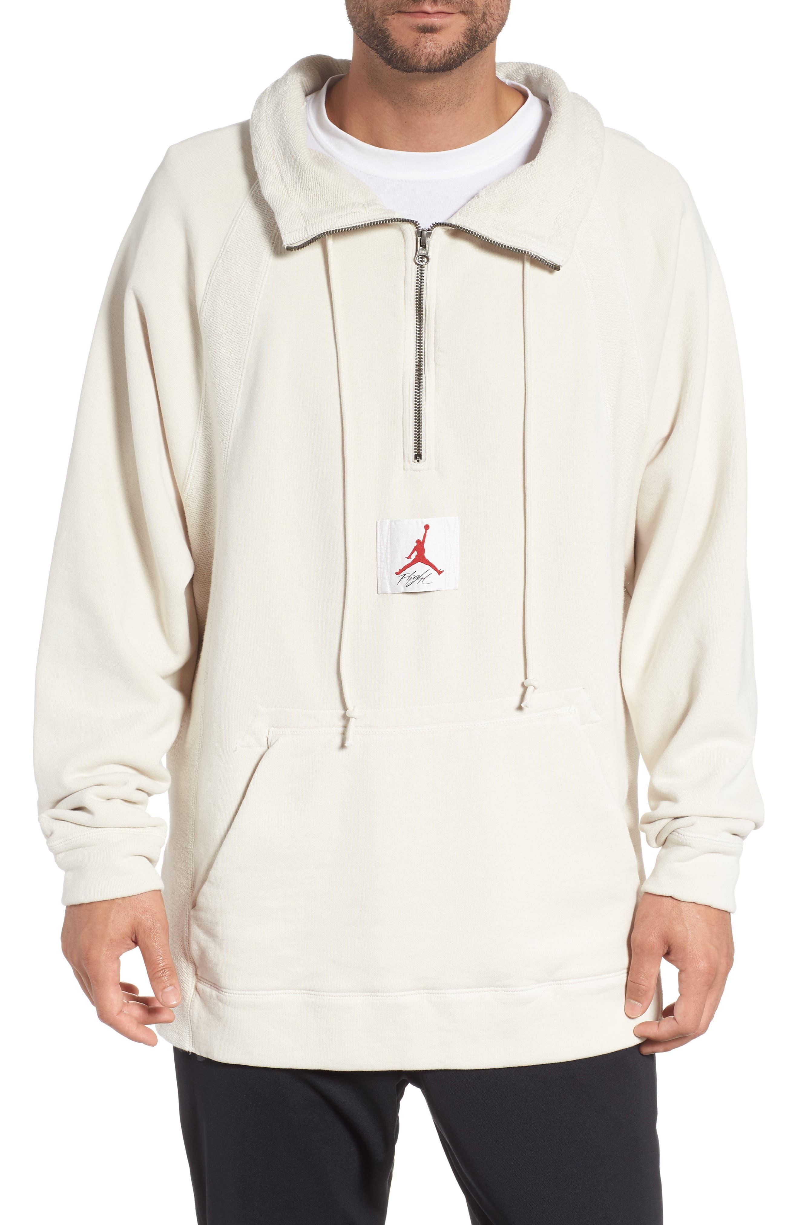 Jordan Wings Washed Quarter Zip Sweatshirt