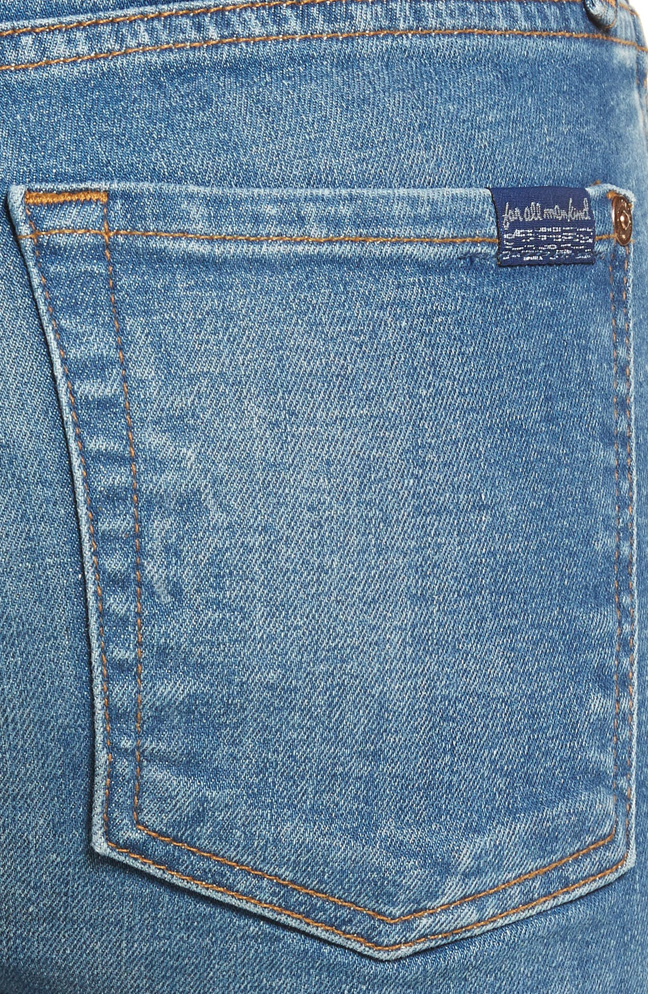 Dylan Straight Leg Jeans,                             Alternate thumbnail 4, color,                             400