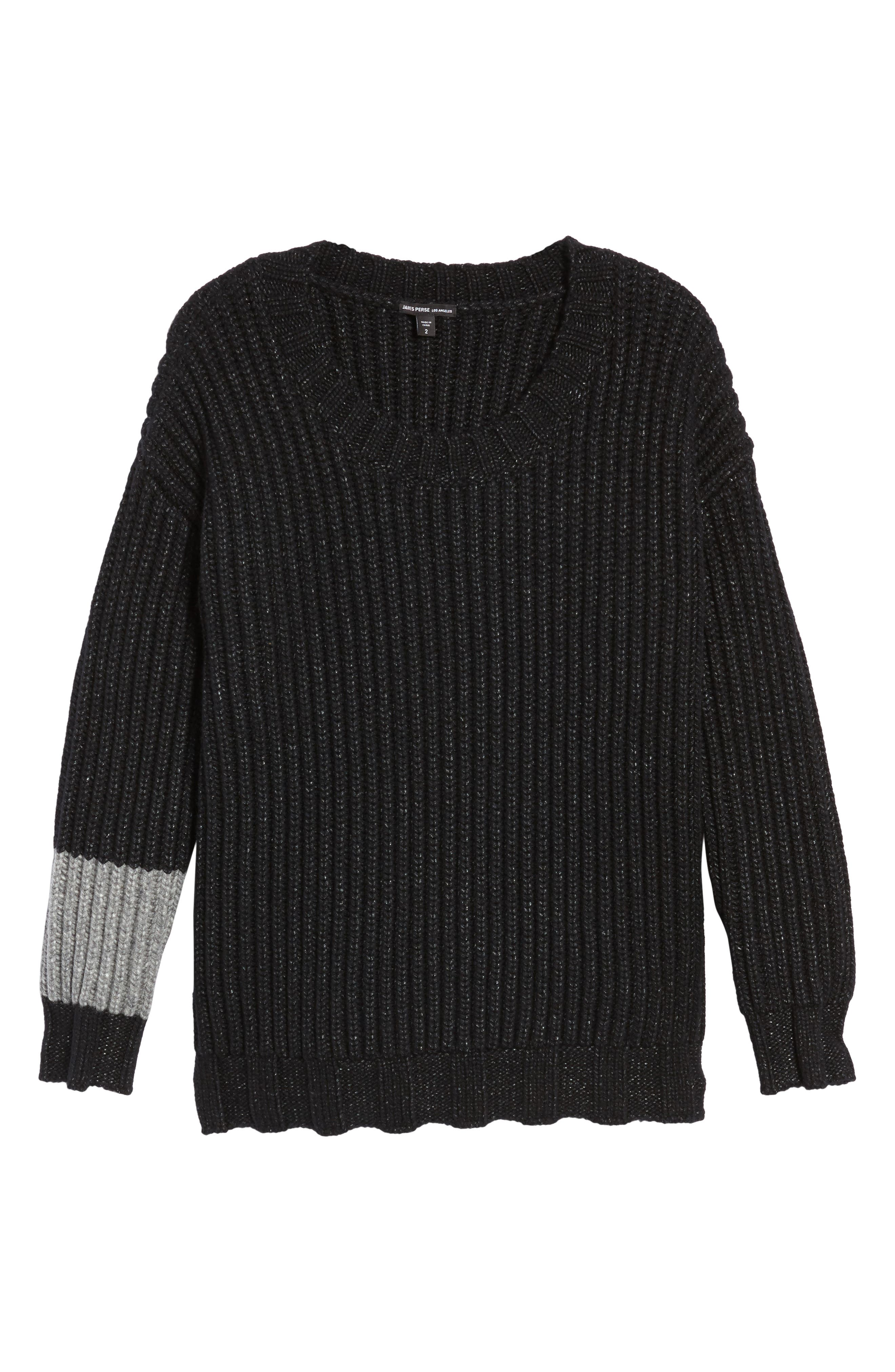 Chunky Armband Sweater,                             Alternate thumbnail 6, color,                             008