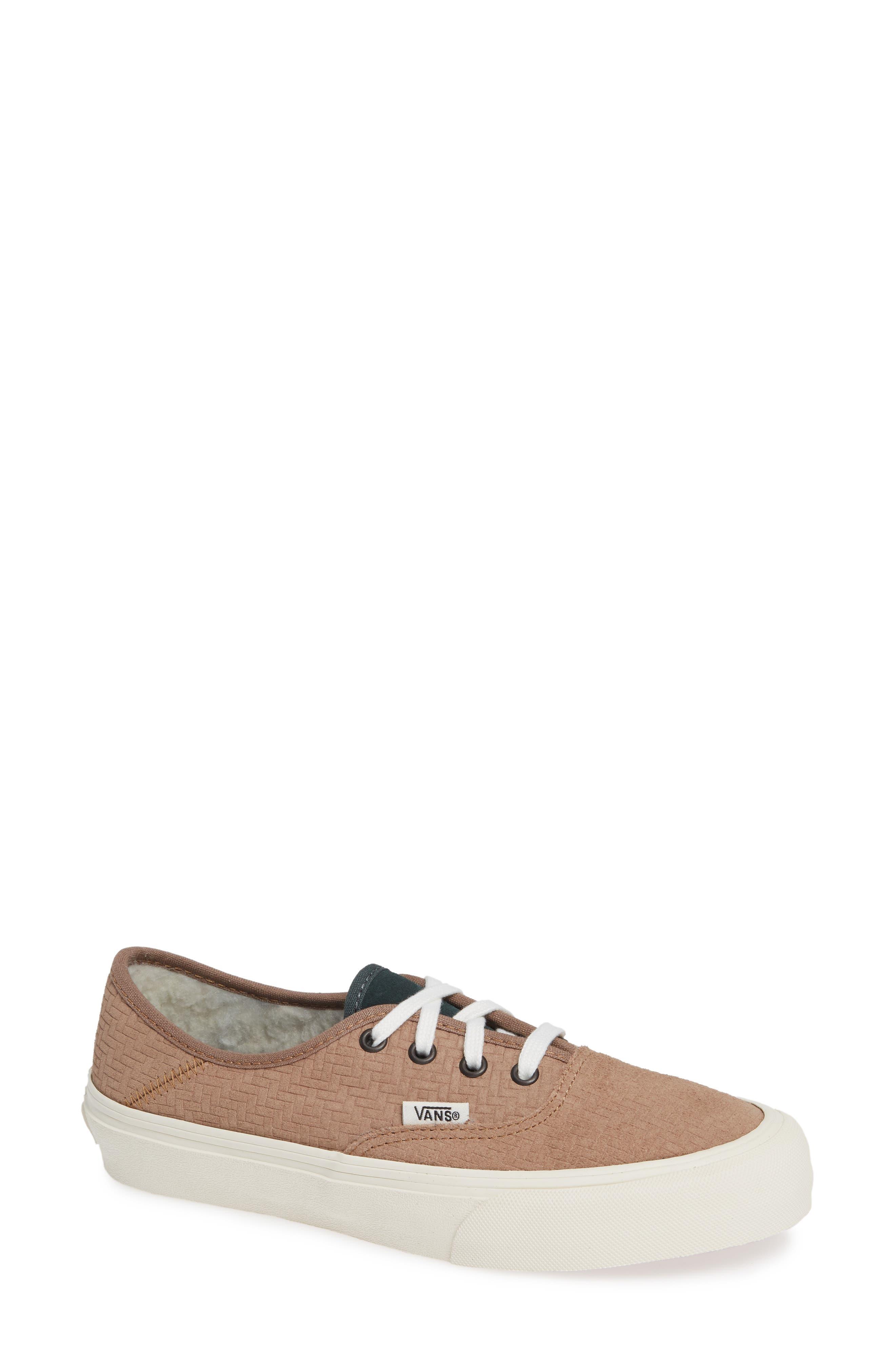 UA Authentic SF Collapsible Heel Sneaker, Main, color, WOODSMOKE/ DARKEST SPRUCE