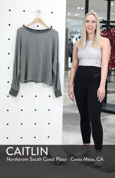 Laced Sleeve Pullover, sales video thumbnail