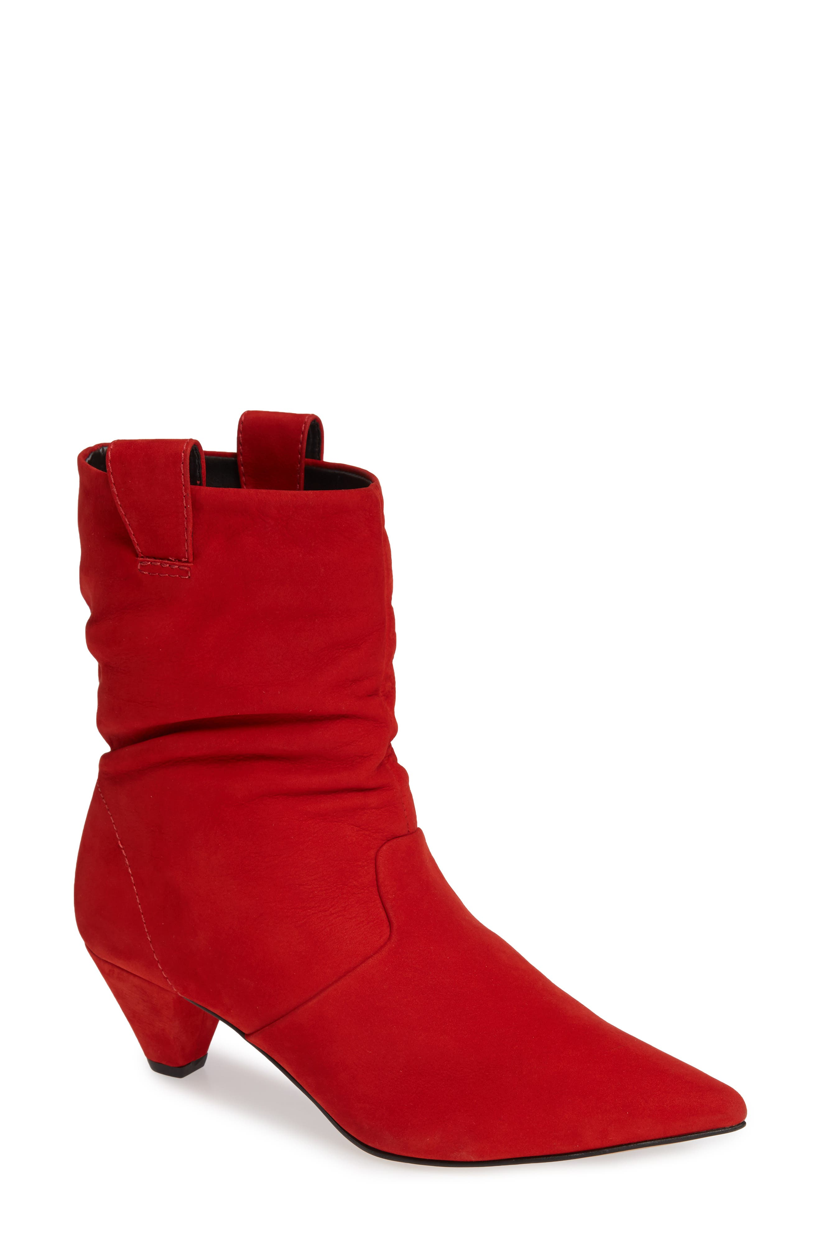 Lust For Life Plum Bootie, Red