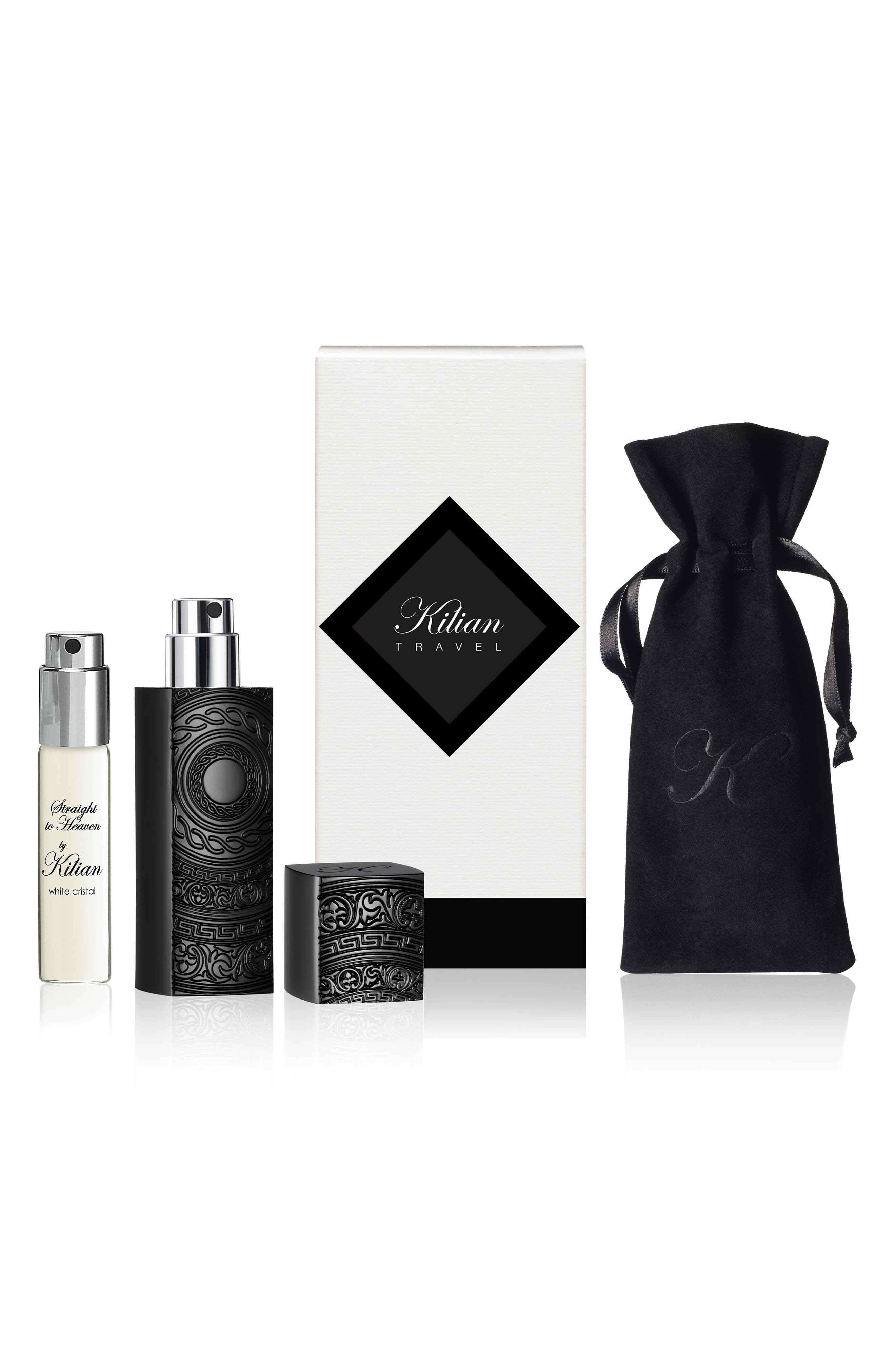 L'Oeuvre Noire Straight to Heaven, white cristal Purse Spray Set,                             Alternate thumbnail 2, color,                             000