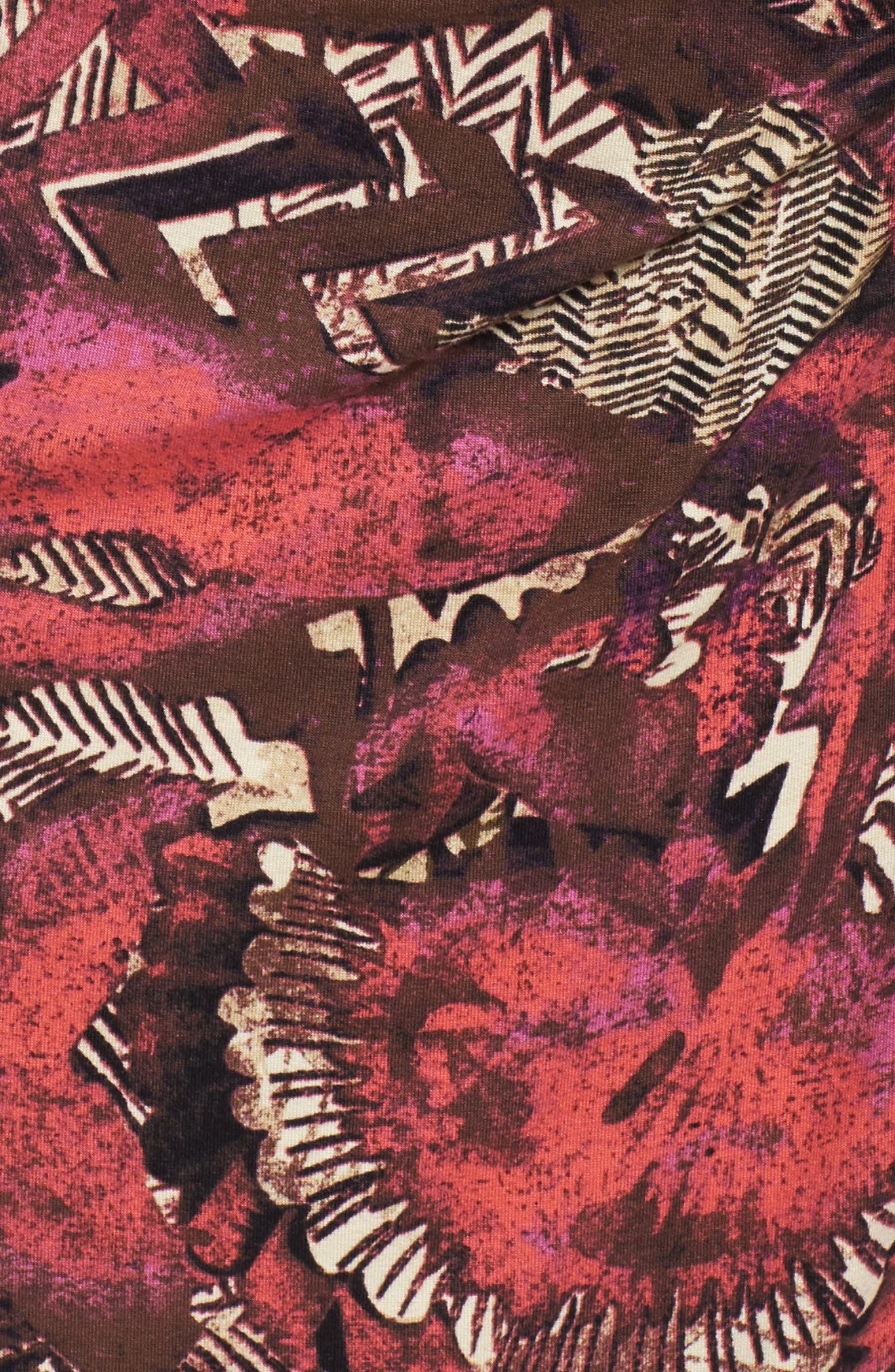 NIC+ZOE,                             Etched Floral Dress,                             Alternate thumbnail 5, color,                             600