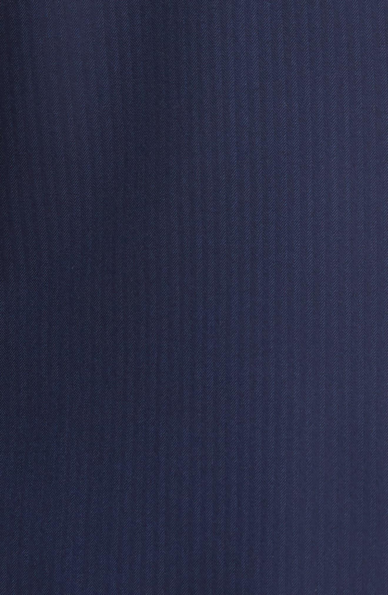 Jay Trim Fit Stripe Wool Suit,                             Alternate thumbnail 9, color,                             410