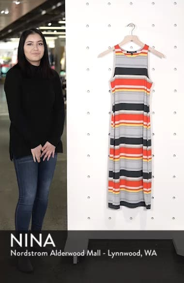 Stripe Midi Dress, sales video thumbnail