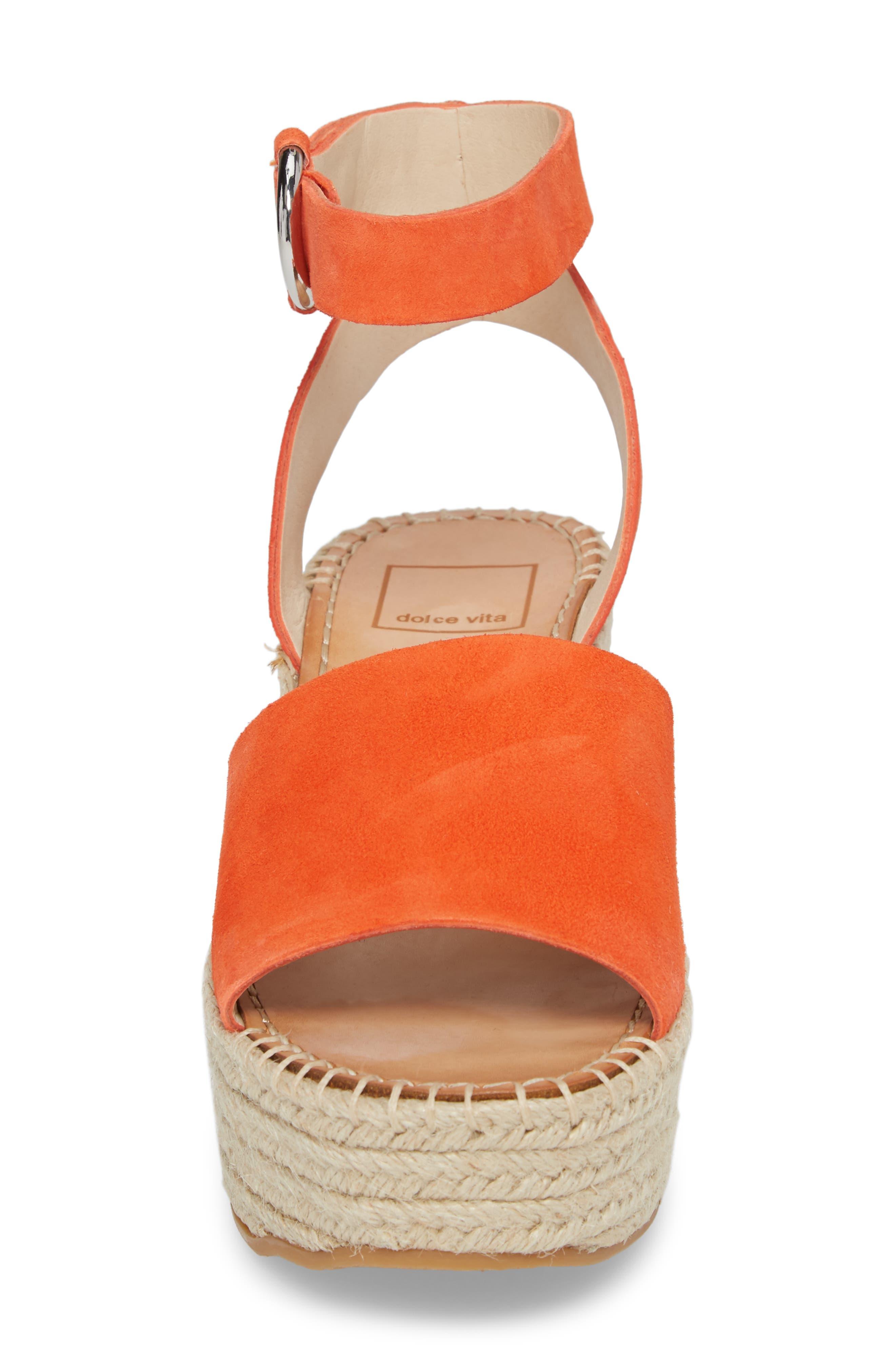 Lesly Espadrille Platform Sandal,                             Alternate thumbnail 27, color,