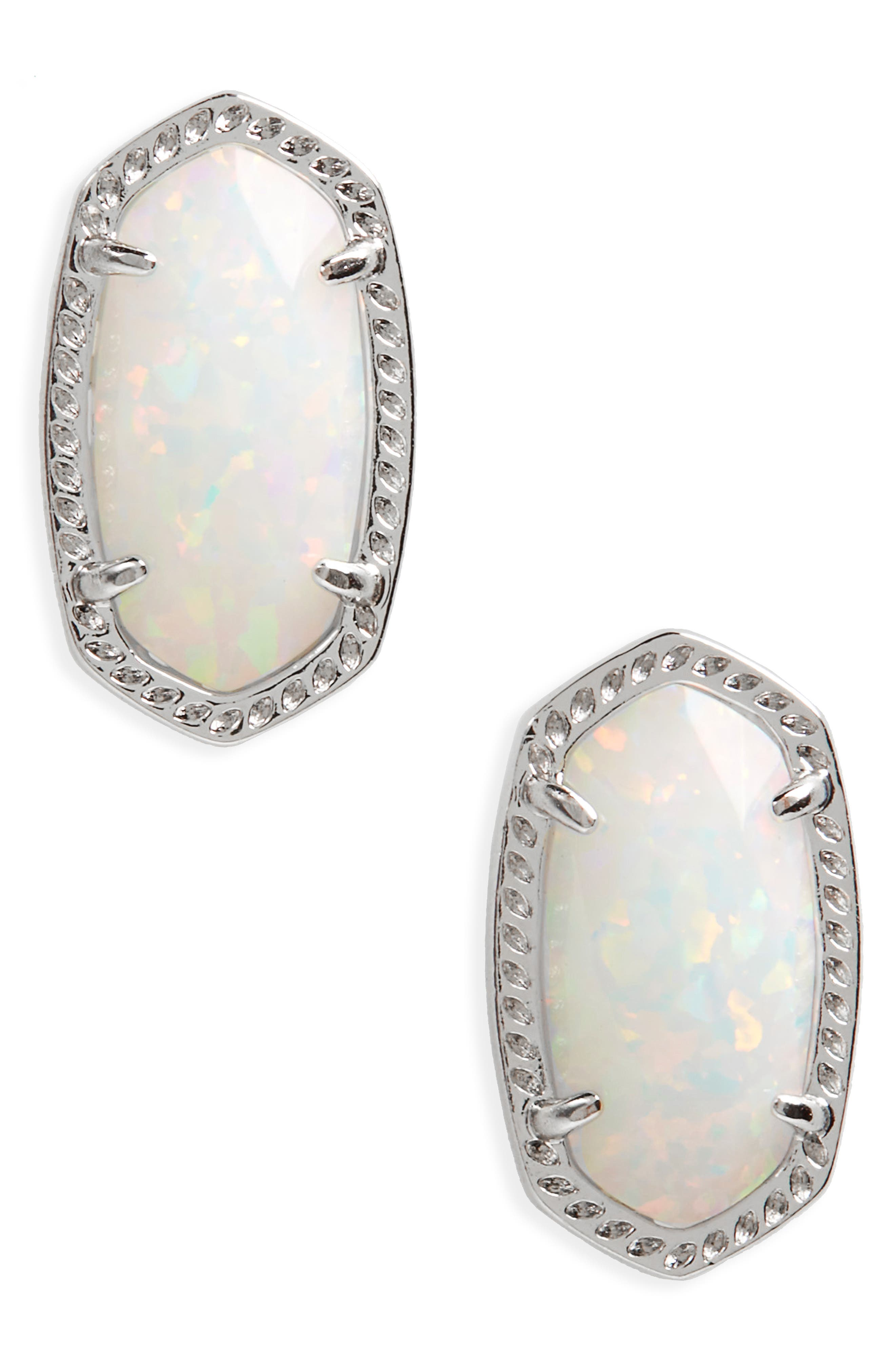 Ellie Oval Stud Earrings,                             Main thumbnail 1, color,                             049
