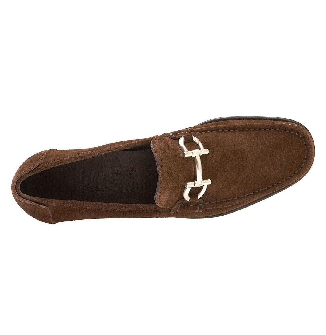 SALVATORE FERRAGAMO,                             'Cancun' Loafer,                             Alternate thumbnail 3, color,                             HKS
