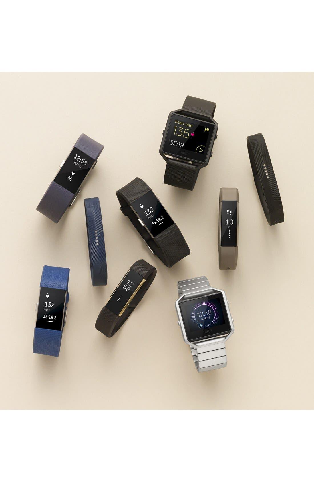 'Flex 2' Wireless Activity & Sleep Wristband,                             Alternate thumbnail 5, color,                             BLACK