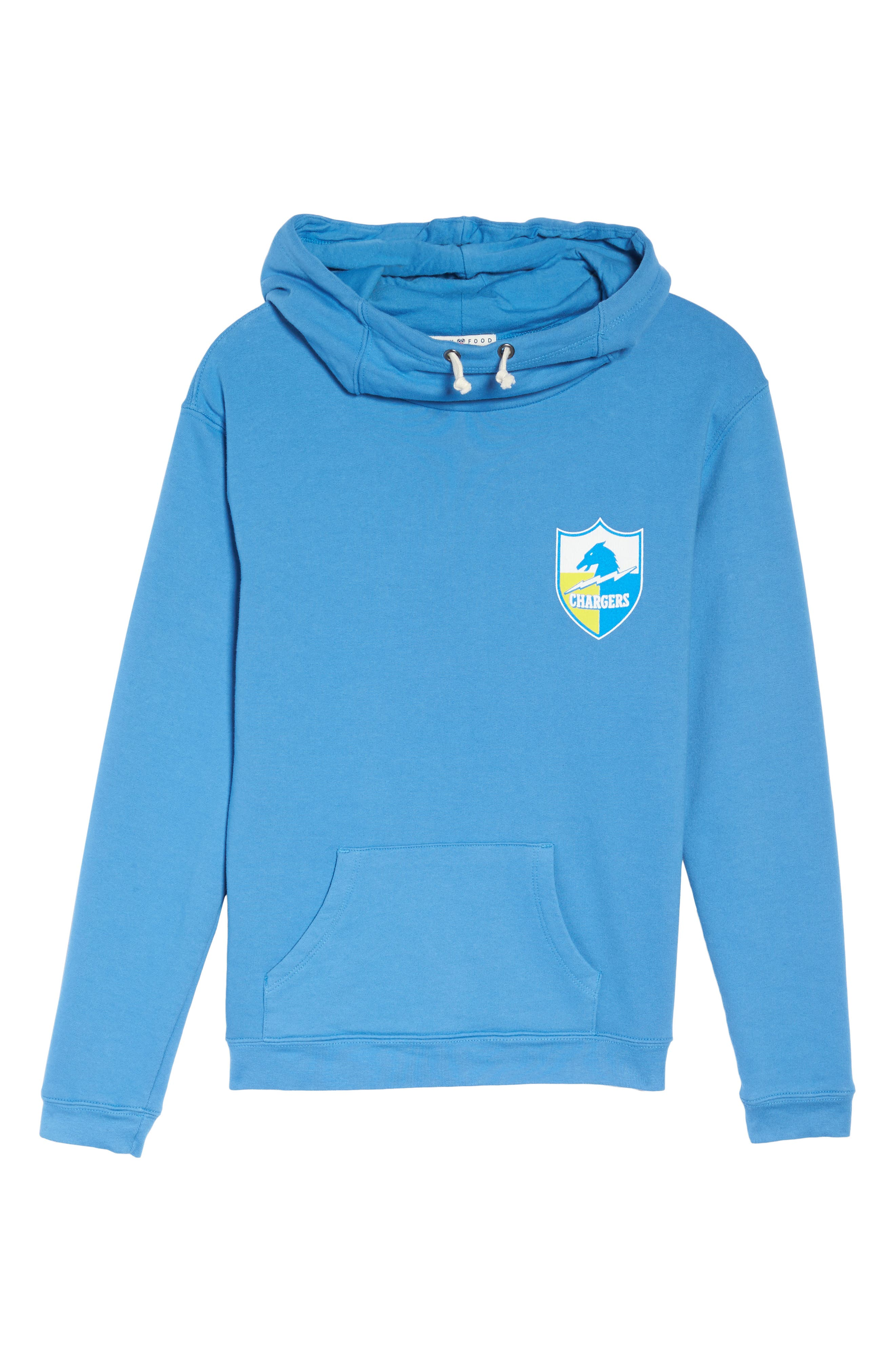 NFL Los Angeles Chargers Sunday Hoodie,                             Alternate thumbnail 6, color,                             422