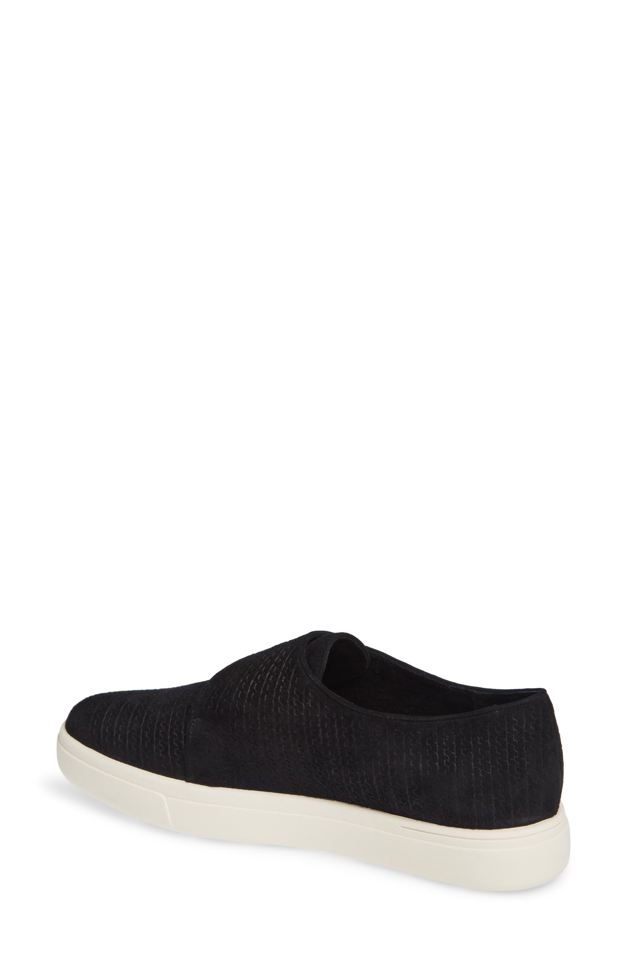 VANELI,                             Oberon Slip-On Sneaker,                             Alternate thumbnail 2, color,                             BLACK SUEDE