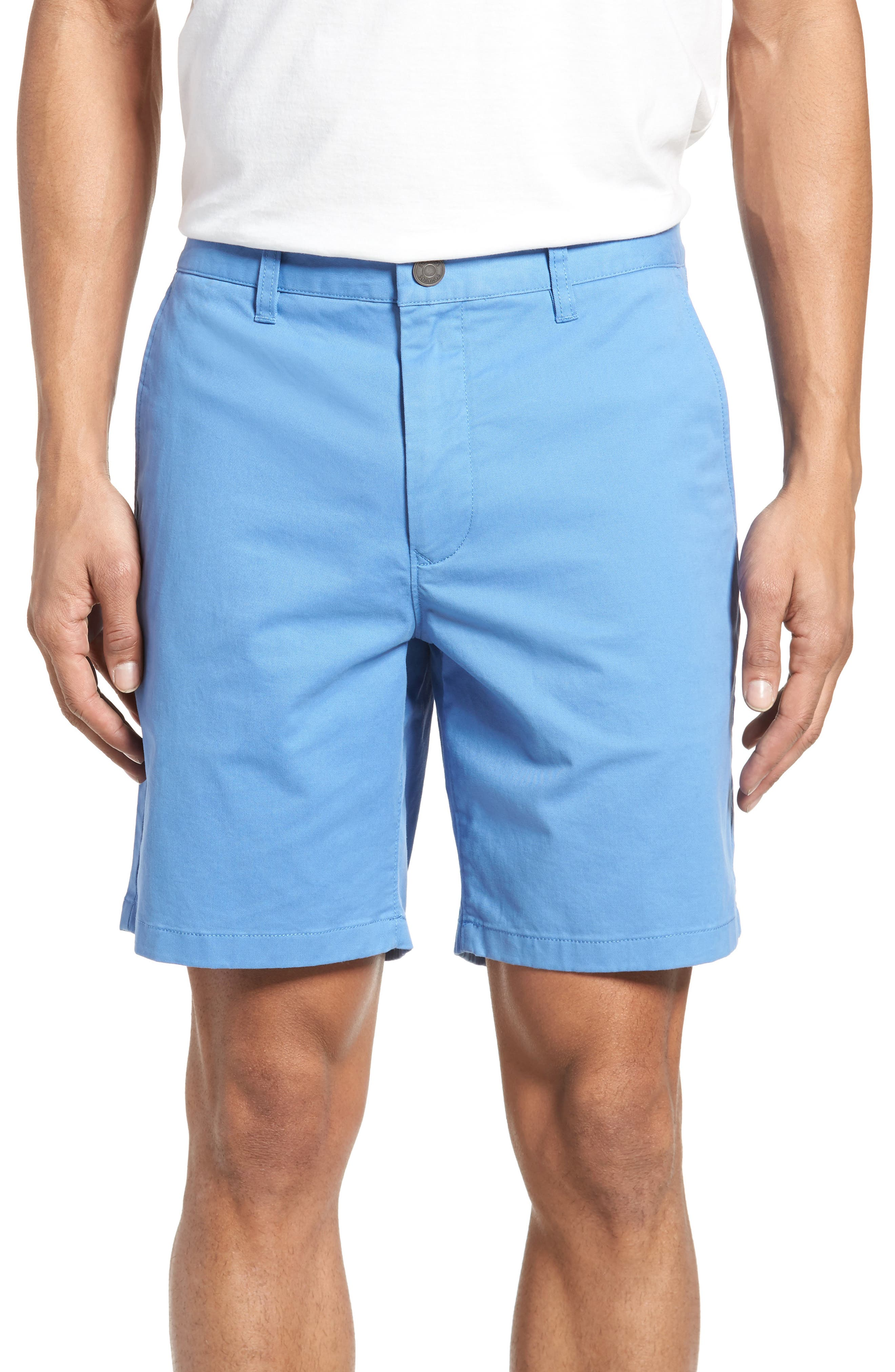 Stretch Washed Chino 7-Inch Shorts,                             Main thumbnail 4, color,