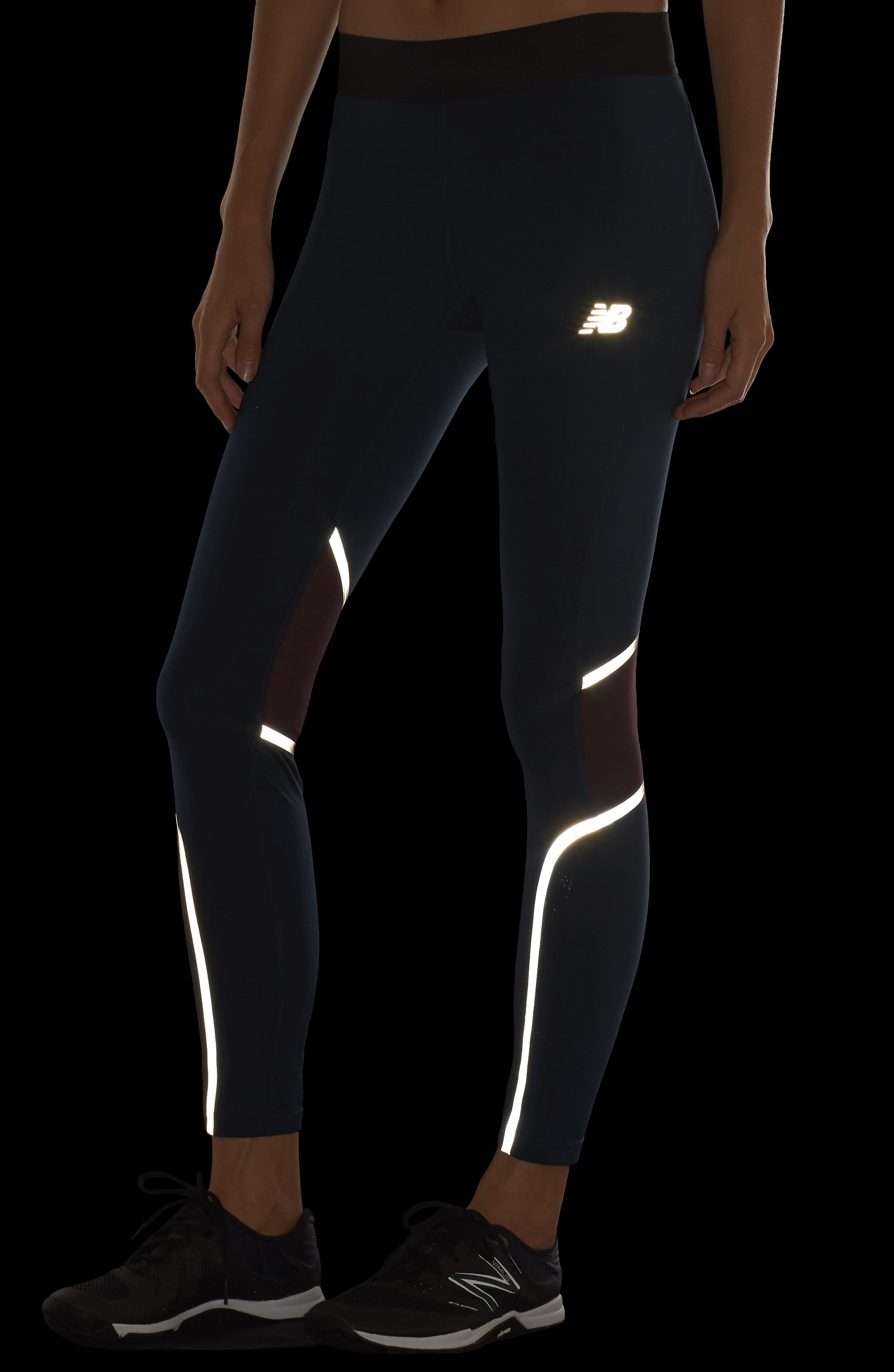 Precision Running Tights,                             Alternate thumbnail 4, color,                             424