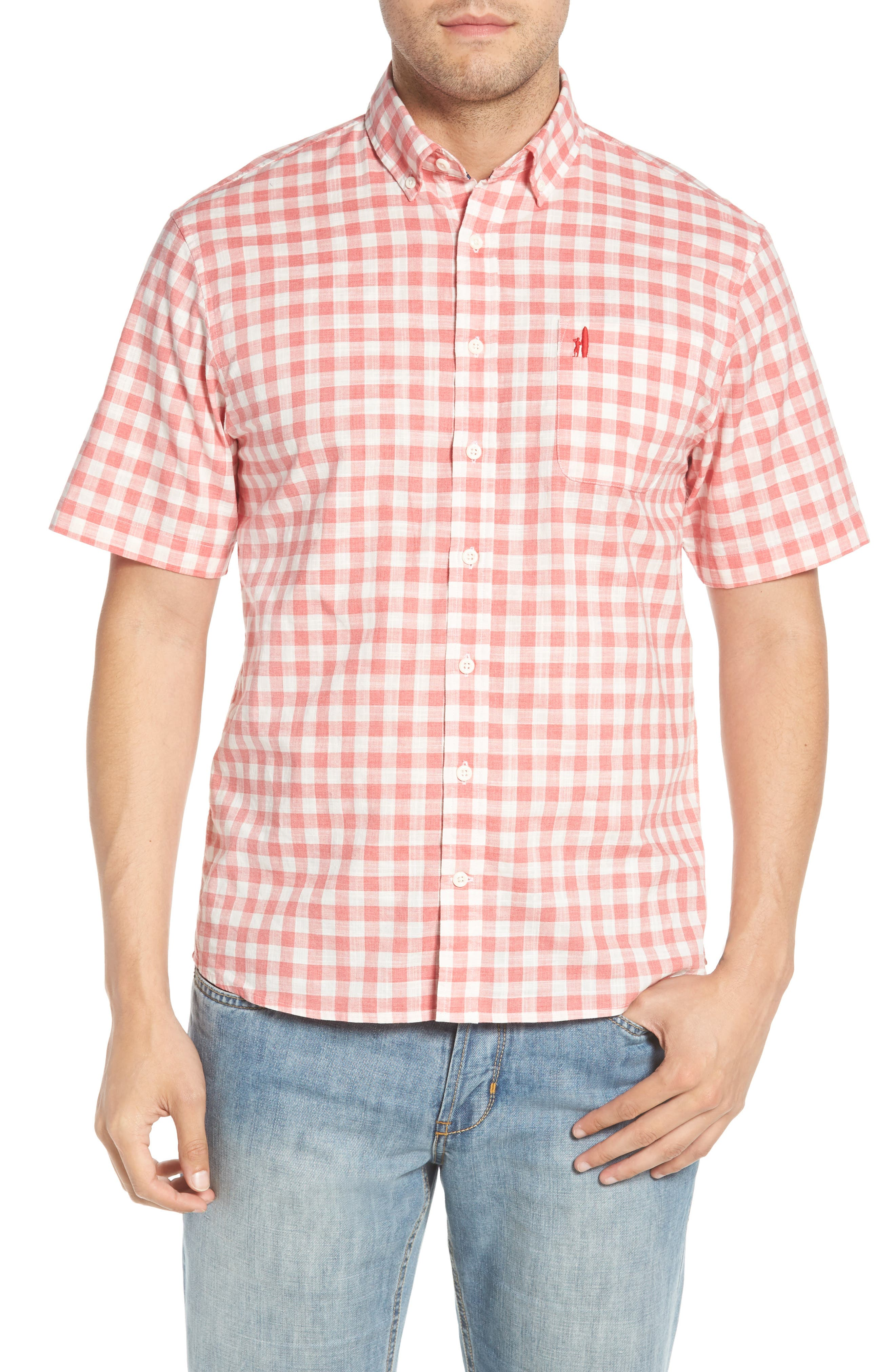 Watts Regular Fit Sport Shirt,                         Main,                         color, CALYPSO