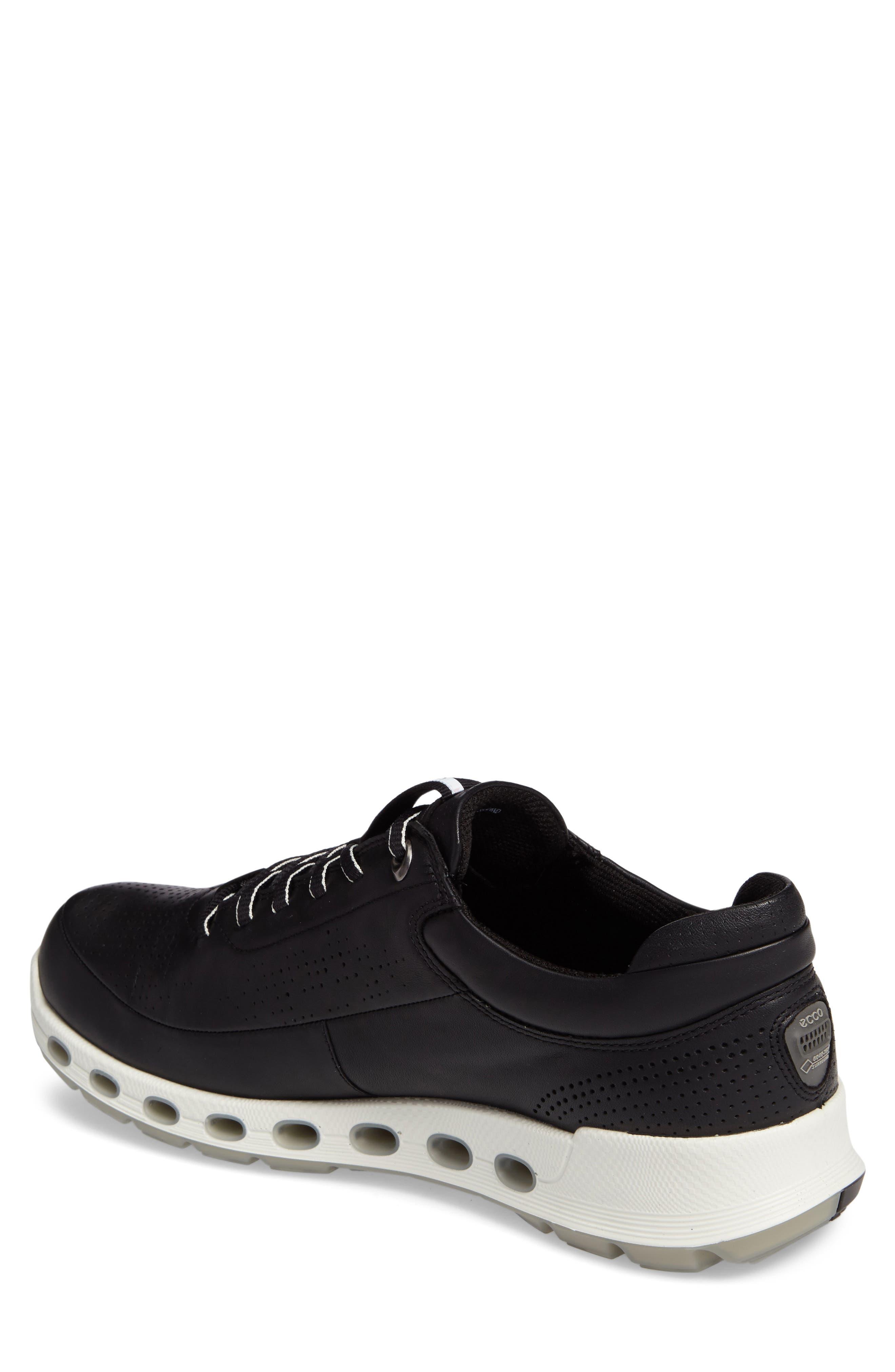 Cool 2.0 Leather GTX Sneaker,                             Alternate thumbnail 2, color,                             BLACK