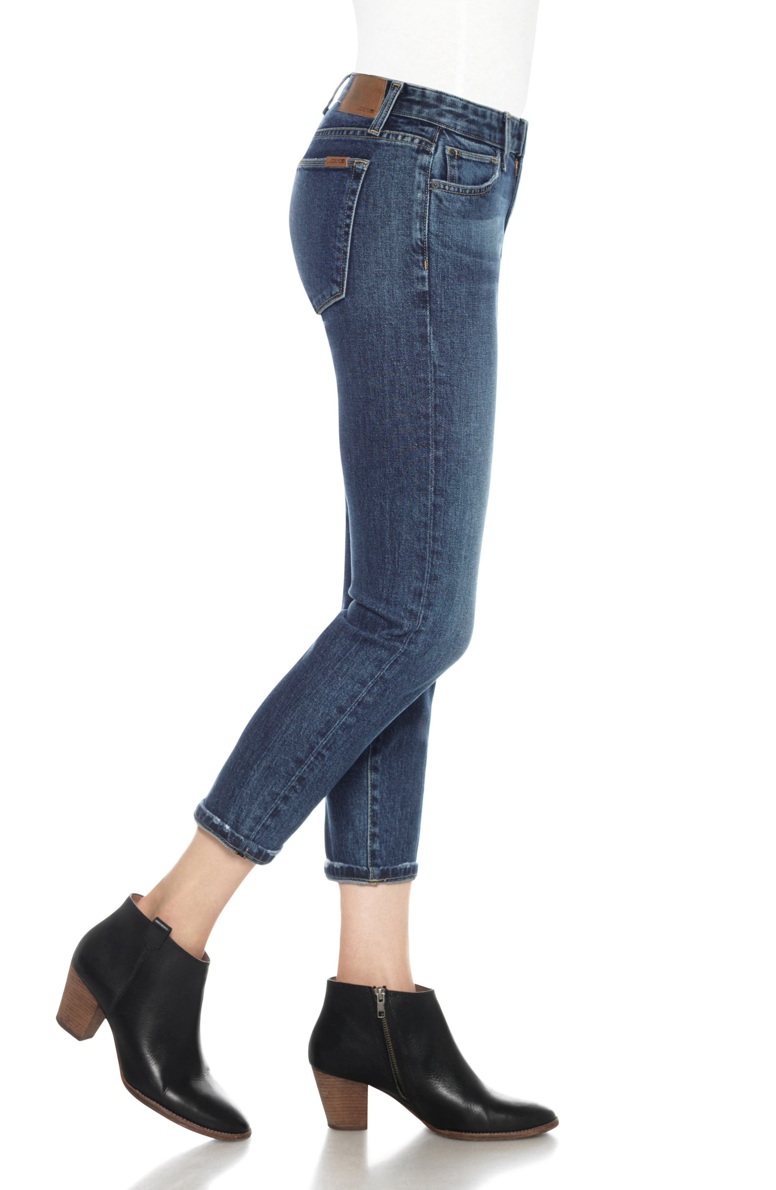 Smith Ankle Skinny Jeans,                             Alternate thumbnail 3, color,                             404