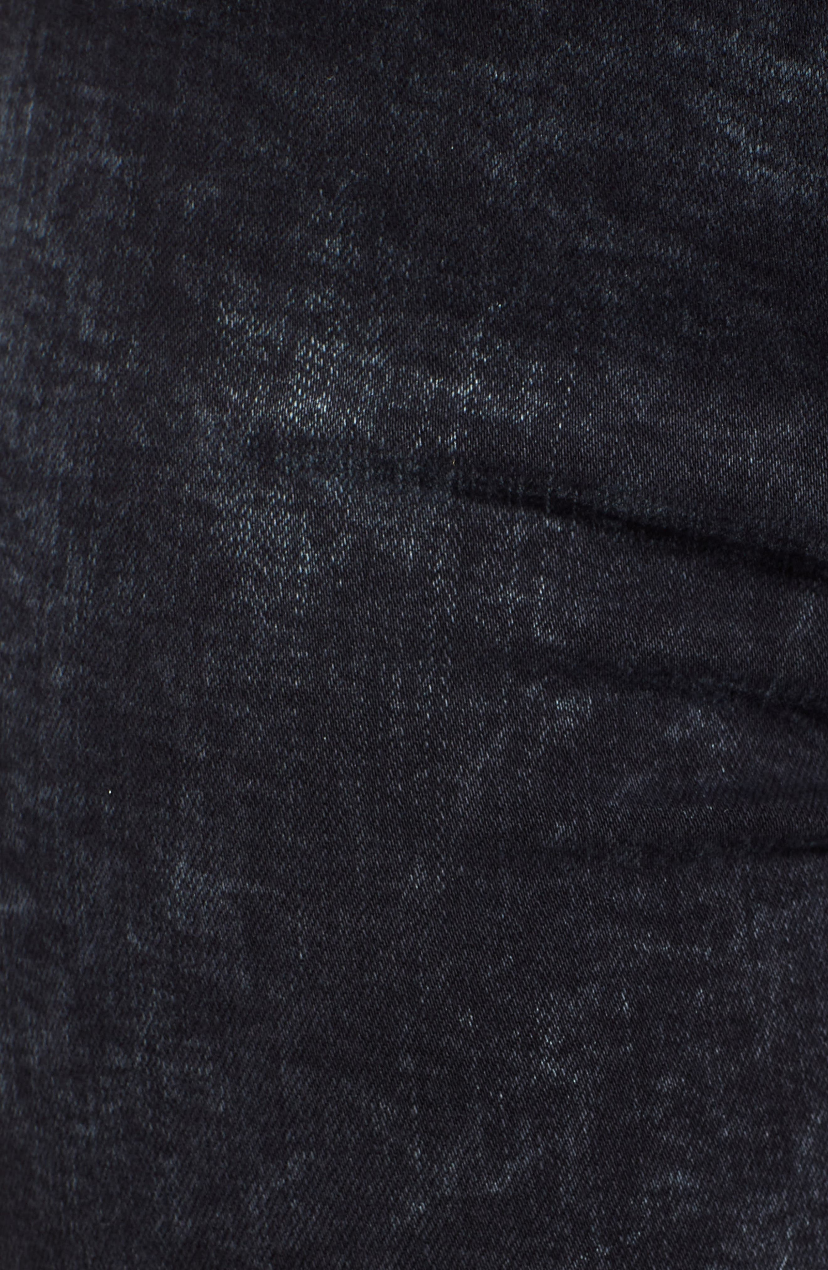 Barbara High Waist Ankle Skinny Jeans,                             Alternate thumbnail 6, color,                             DAINTY