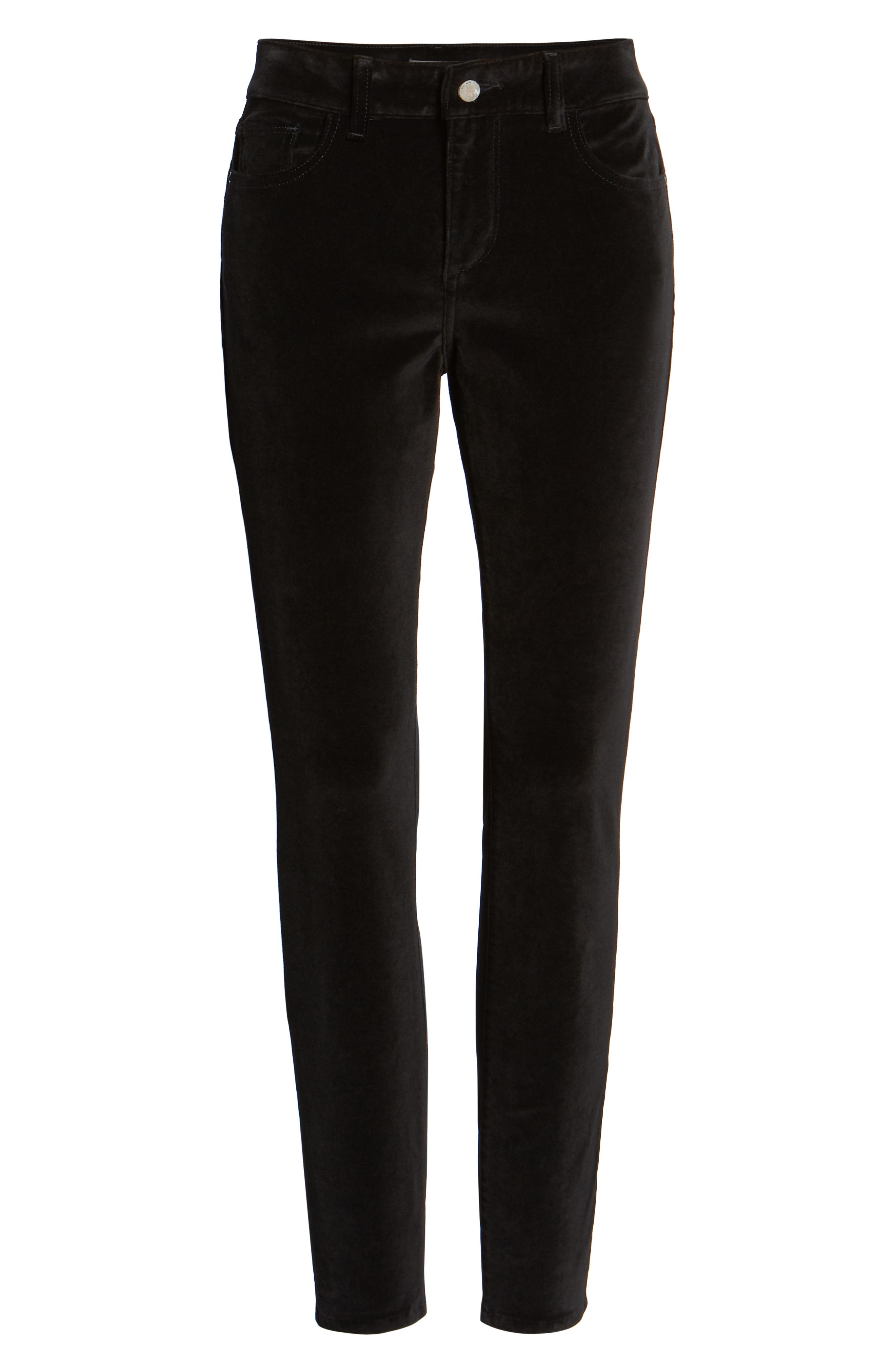 Margaux Instasculpt Ankle Skinny Jeans,                             Alternate thumbnail 7, color,                             LOST