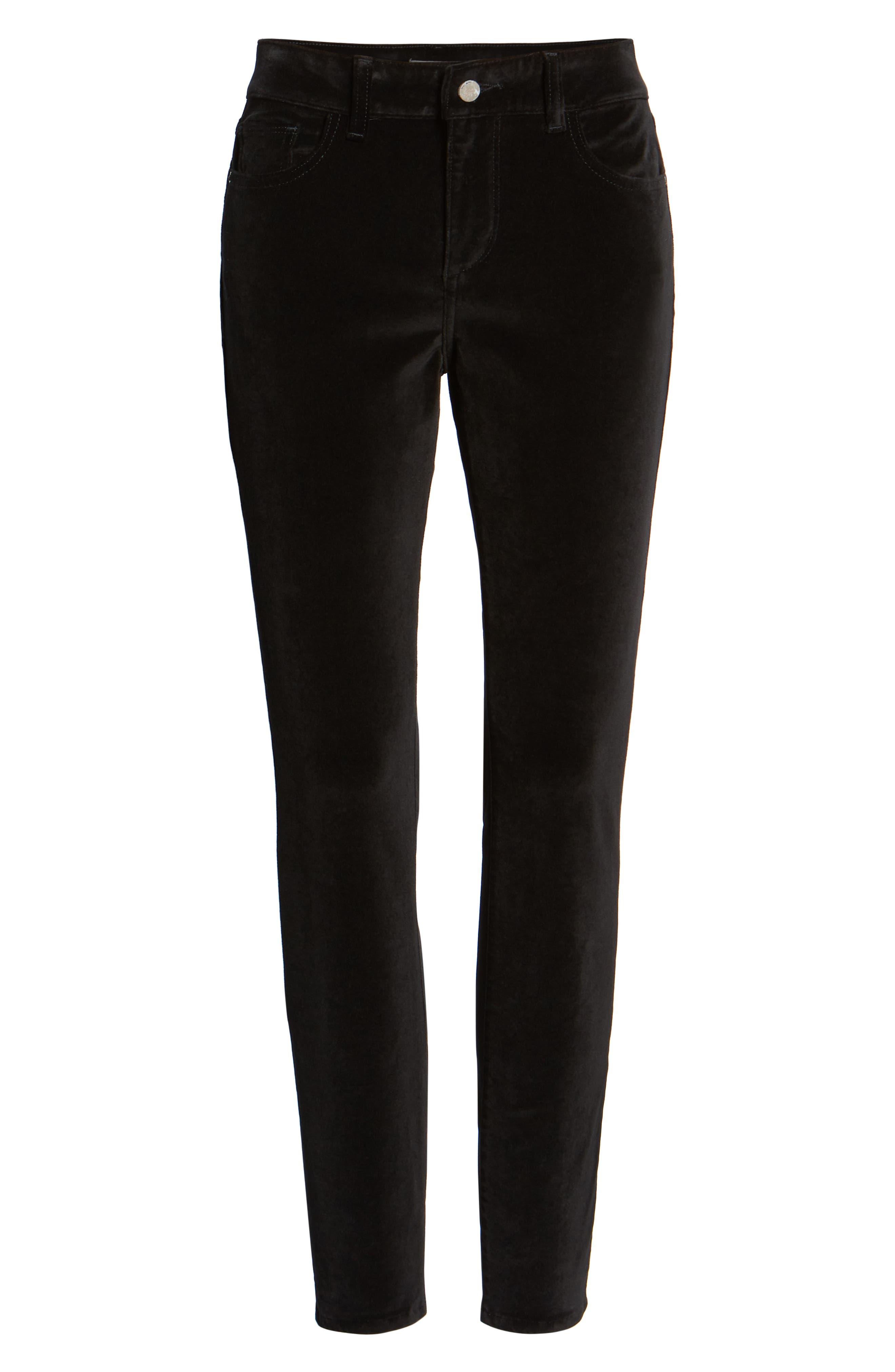 Margaux Instasculpt Ankle Skinny Jeans,                             Alternate thumbnail 7, color,                             001