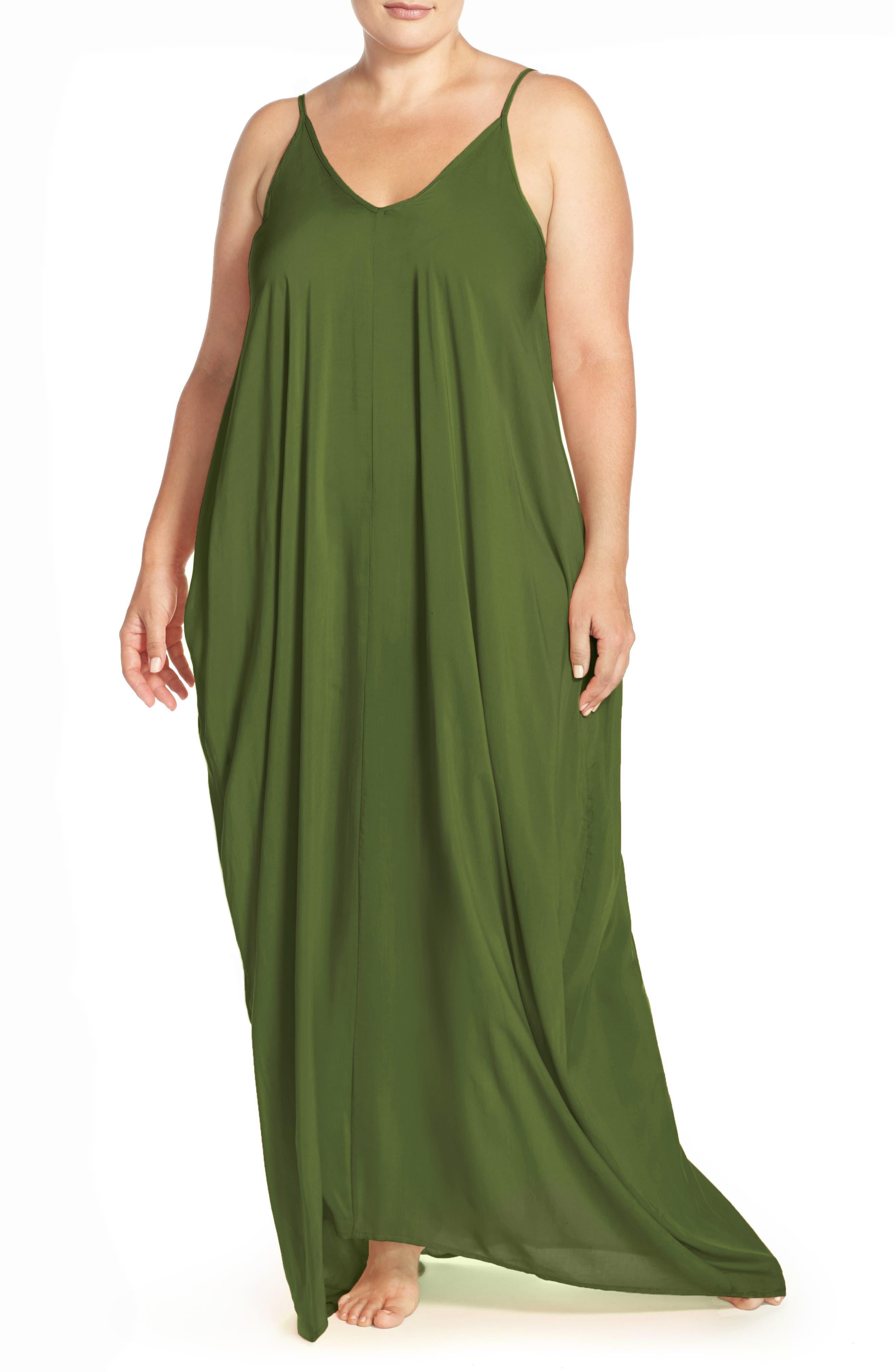 Cover-Up Maxi Dress,                             Main thumbnail 4, color,