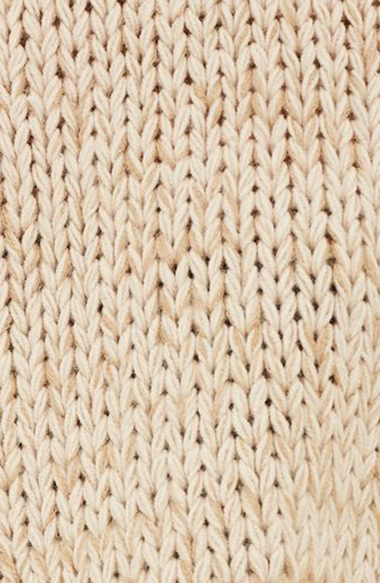 Ladder Stitch Detail Sweater,                             Alternate thumbnail 8, color,
