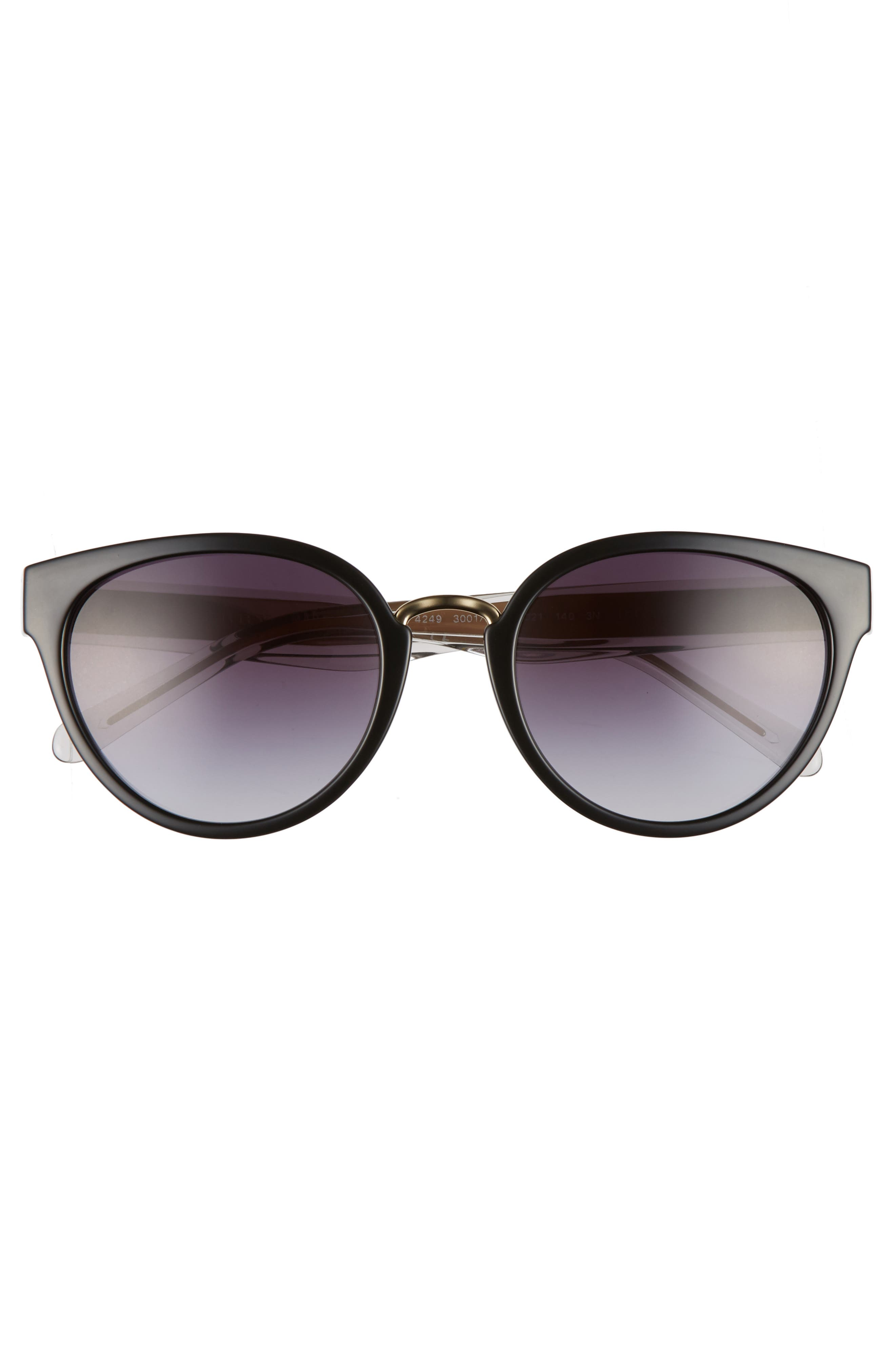 53mm Gradient Cat Eye Sunglasses,                             Alternate thumbnail 9, color,