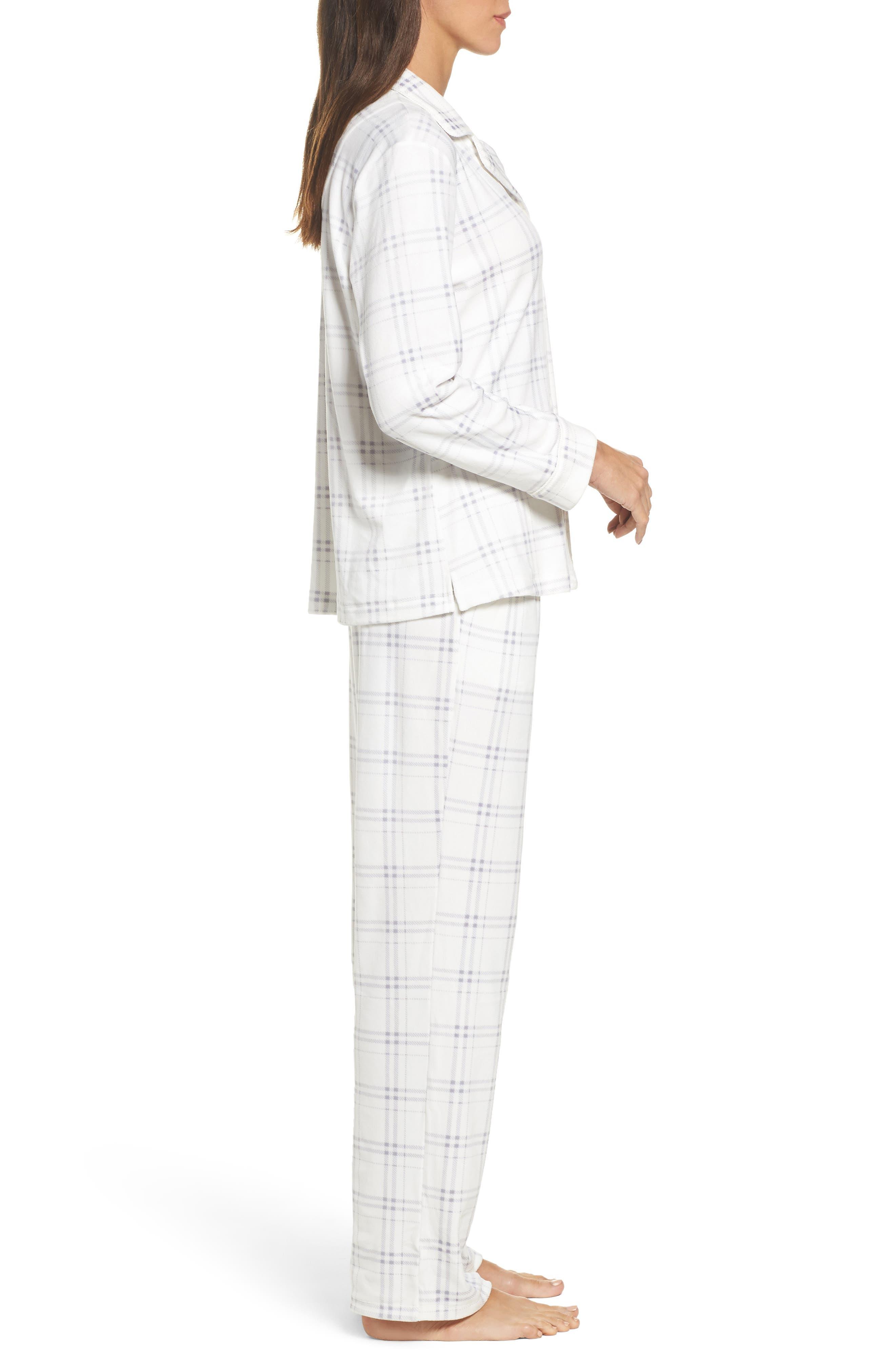 Fleece Pajamas,                             Alternate thumbnail 3, color,                             100