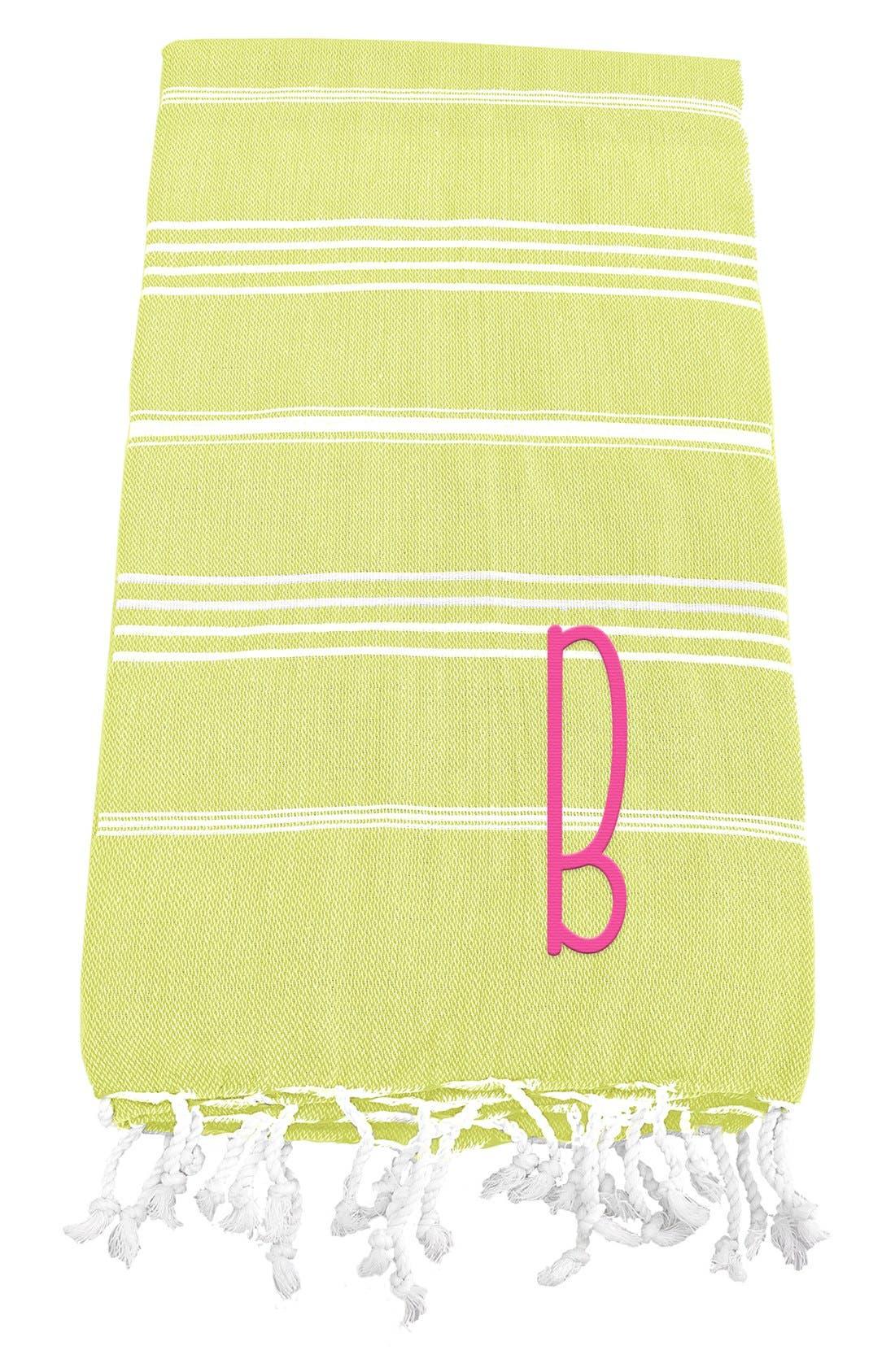 Monogram Turkish Cotton Towel,                             Main thumbnail 31, color,