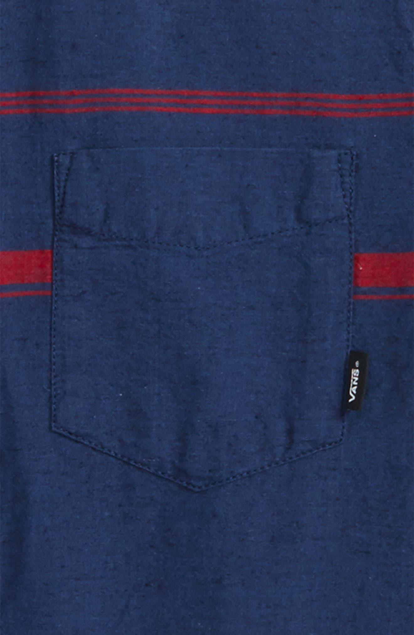 Thurber Boys Woven Shirt,                             Alternate thumbnail 2, color,                             401