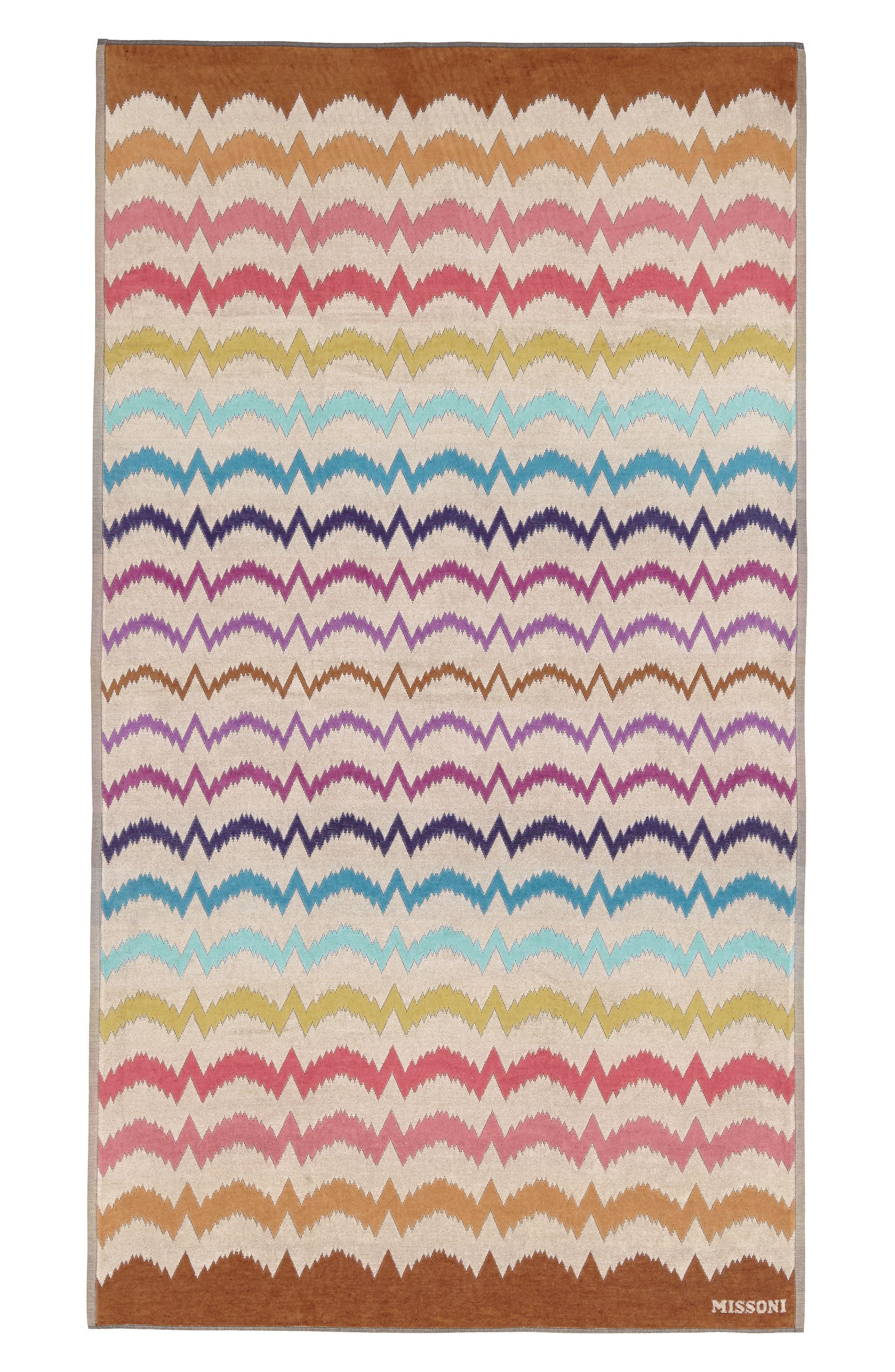 Vera Beach Towel,                             Main thumbnail 1, color,                             MULTI