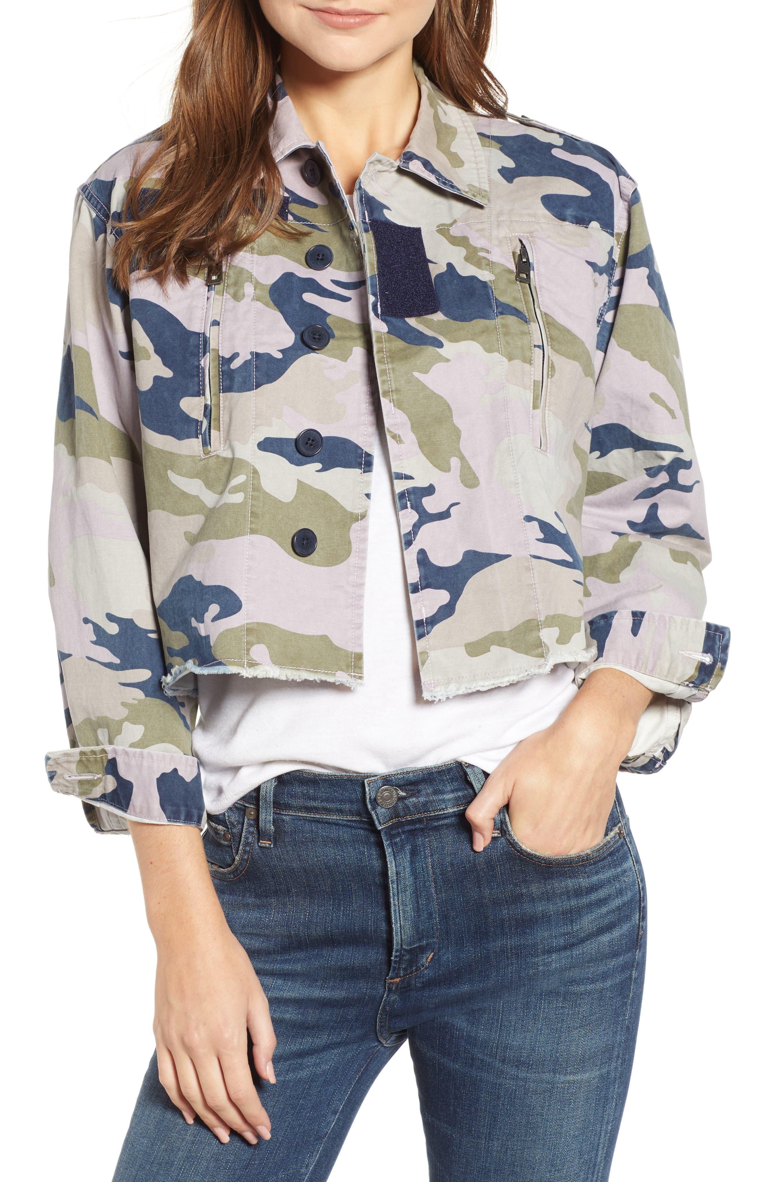 Camo Jacket,                         Main,                         color, PARME