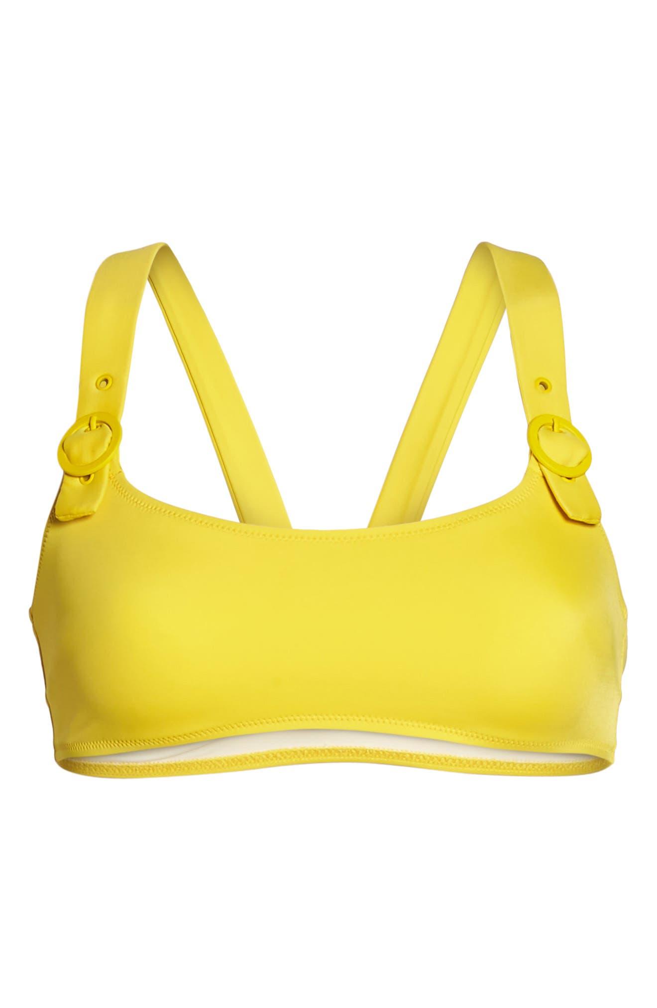 The Evelyn Bikini Top,                             Alternate thumbnail 5, color,