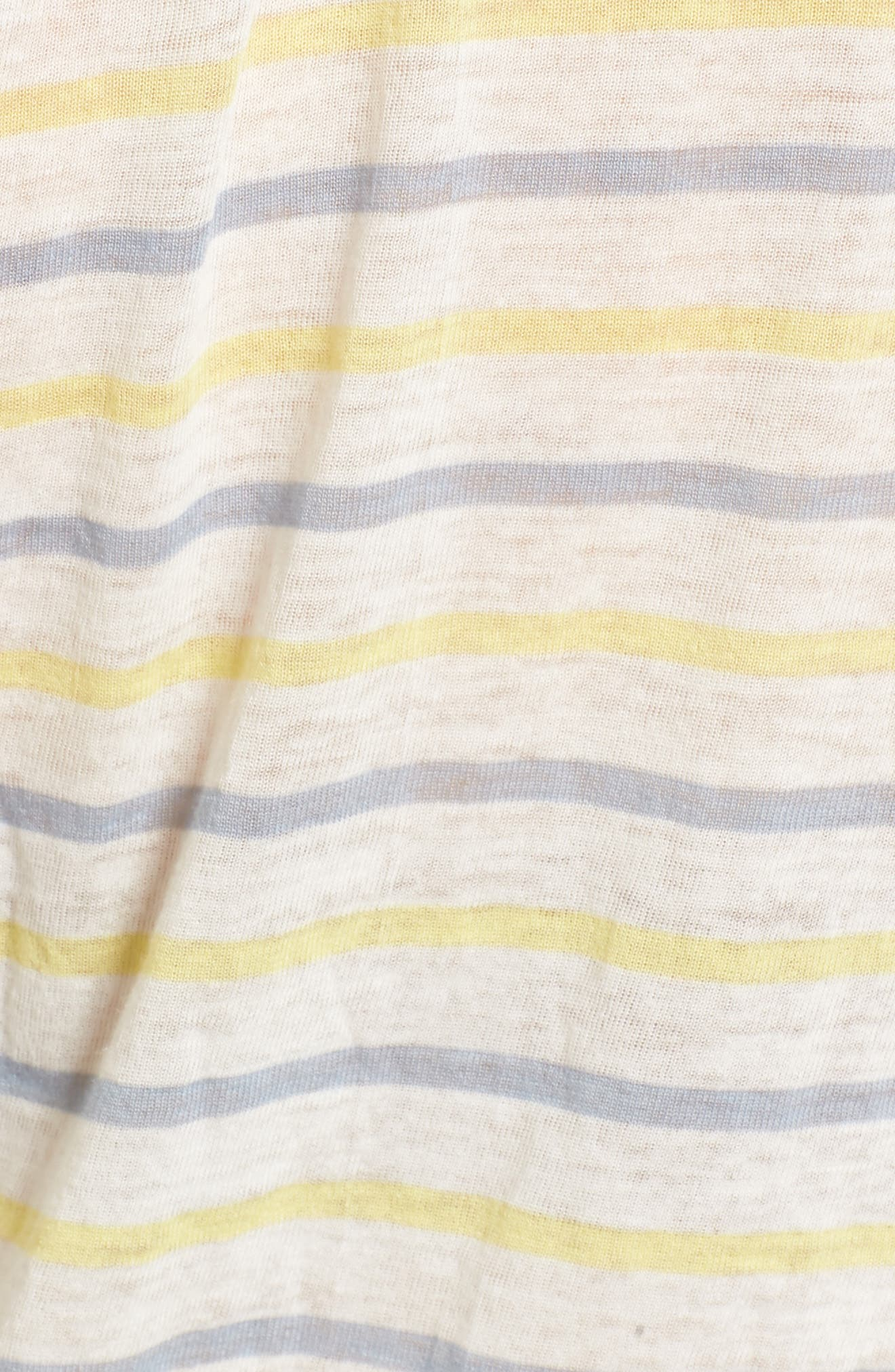 Stripe Baby Tee,                             Alternate thumbnail 5, color,                             450