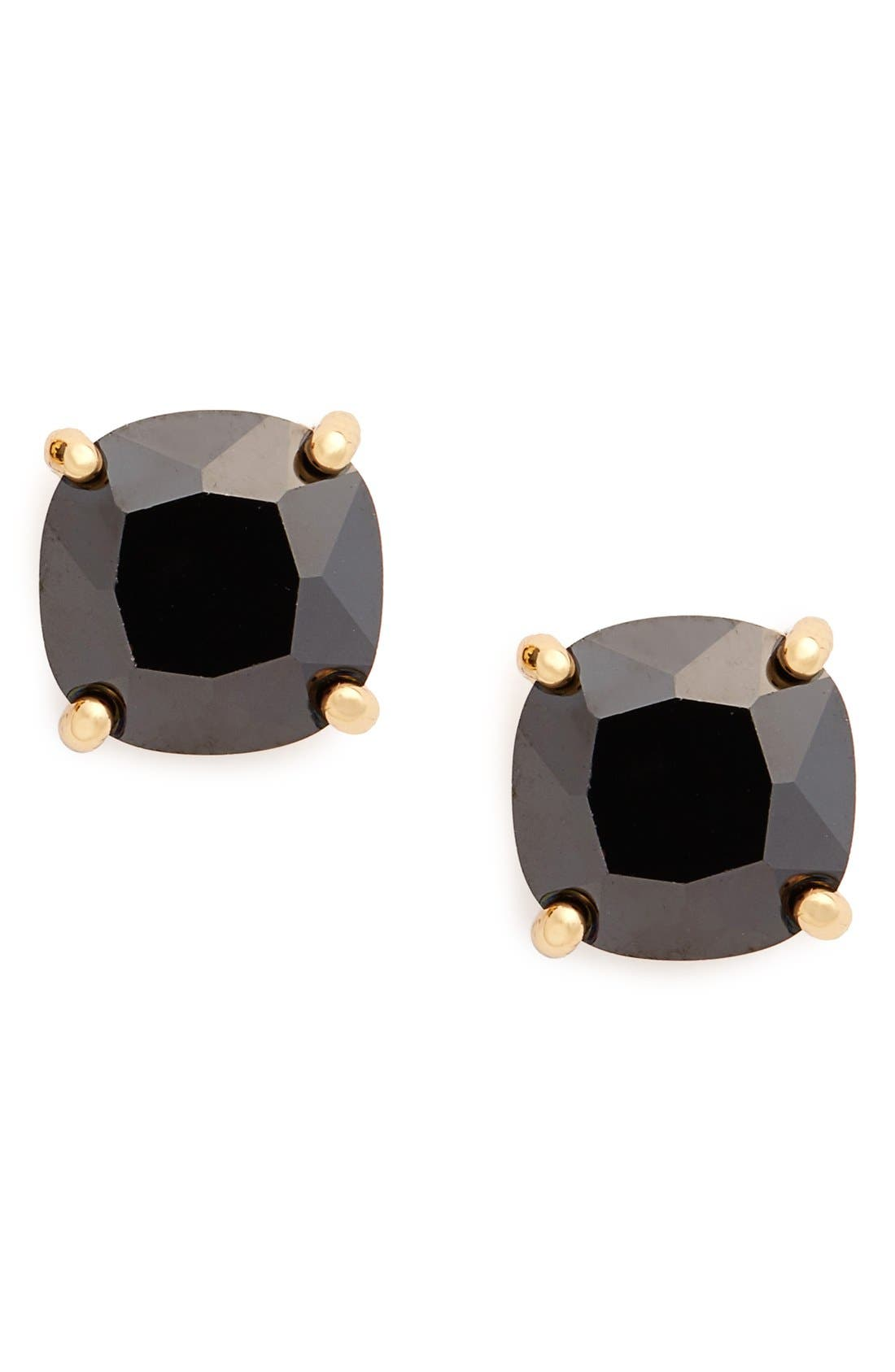 mini square stud earrings,                         Main,                         color, 008