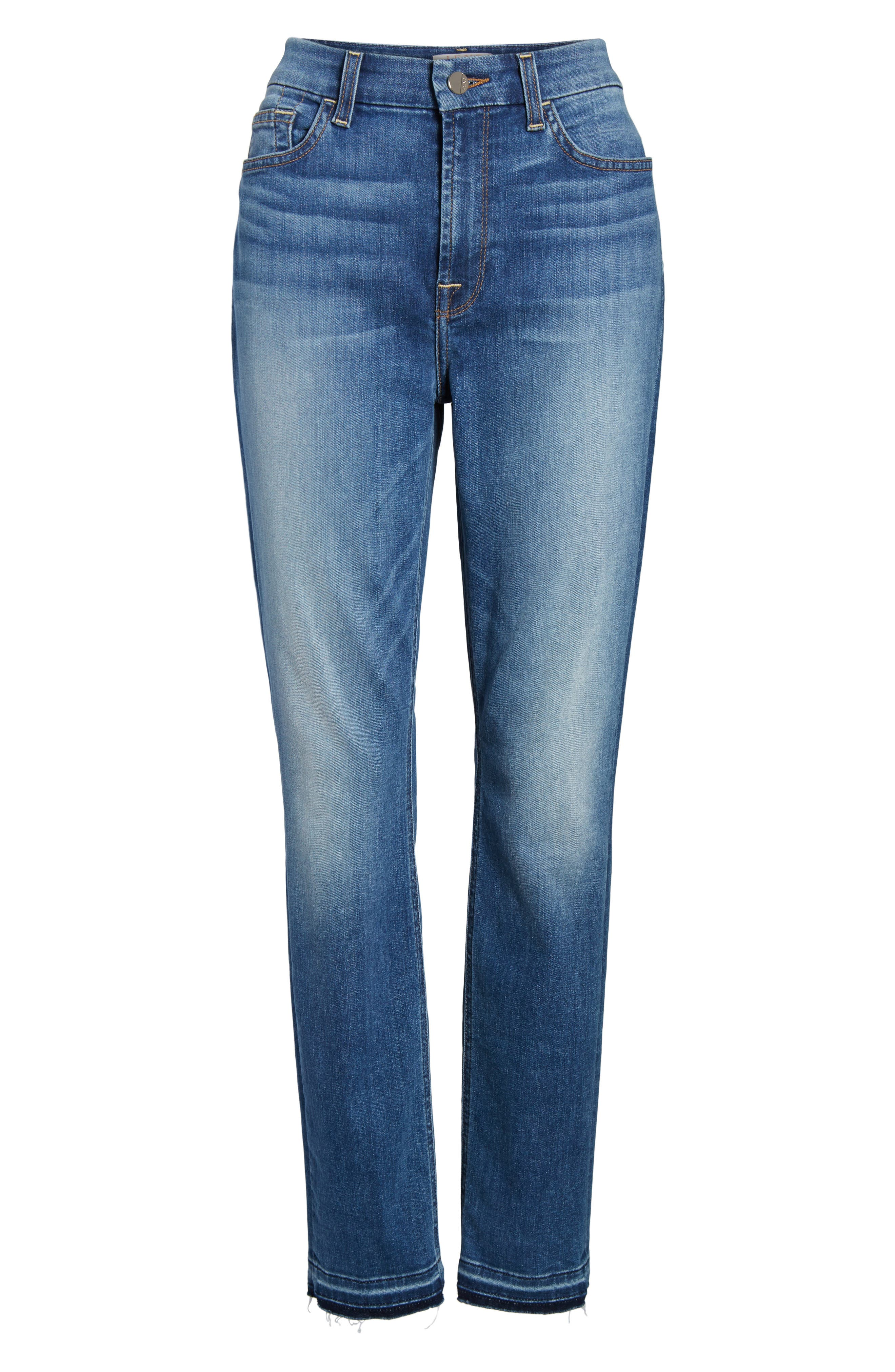 Release Hem Ankle Skinny Jeans,                             Alternate thumbnail 6, color,                             400