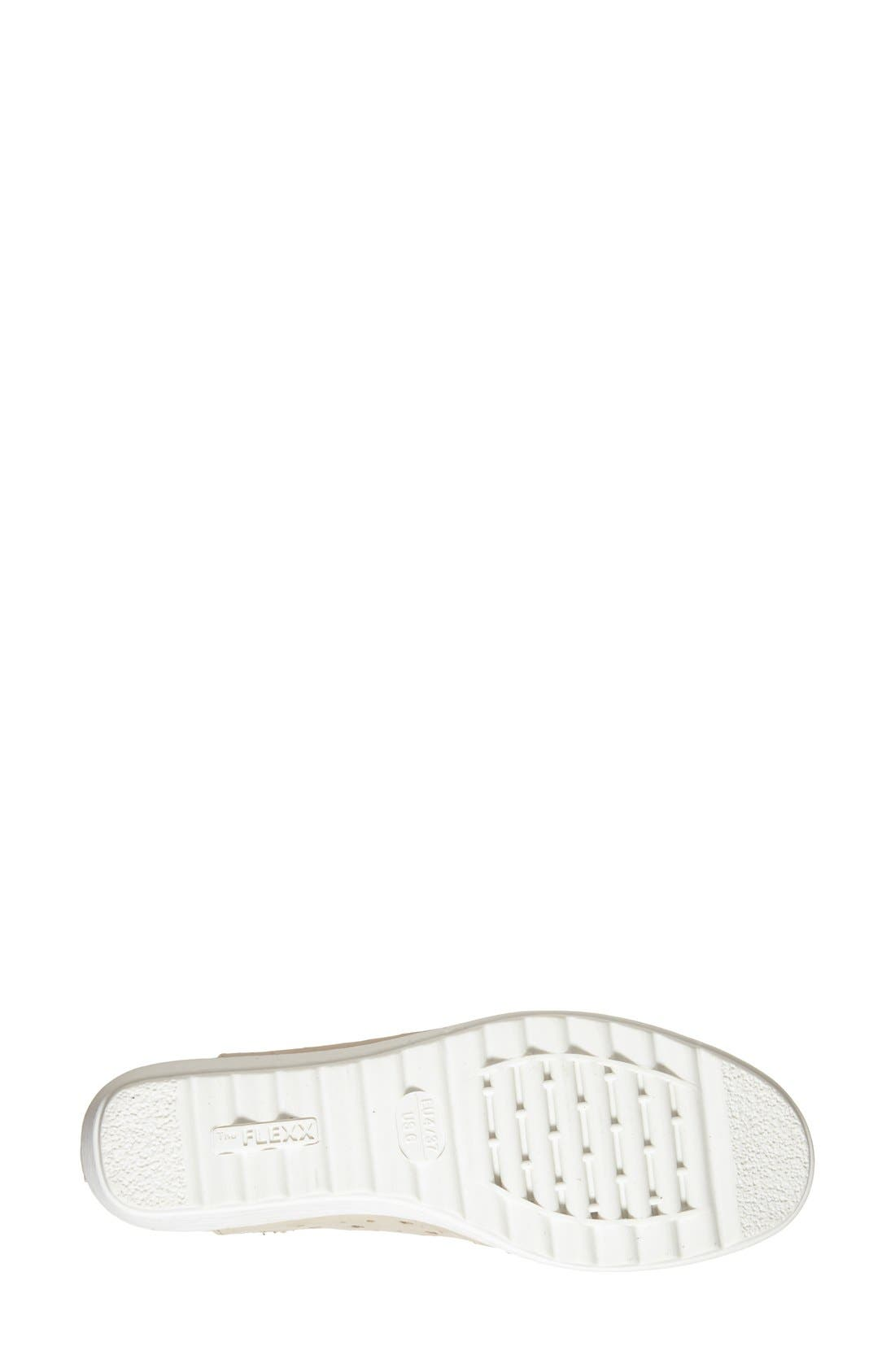 Run Crazy Too Perforated Wedge Sneaker,                             Alternate thumbnail 38, color,