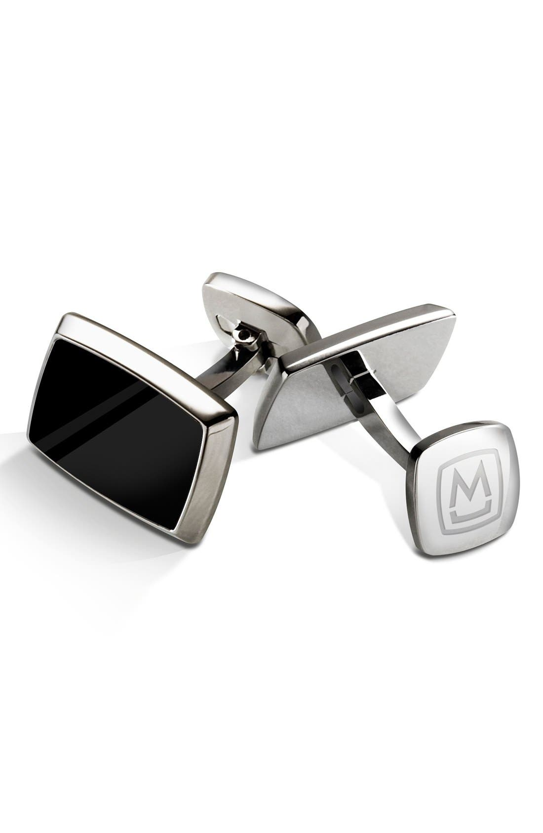 Enamel Cuff Links,                         Main,                         color, 040