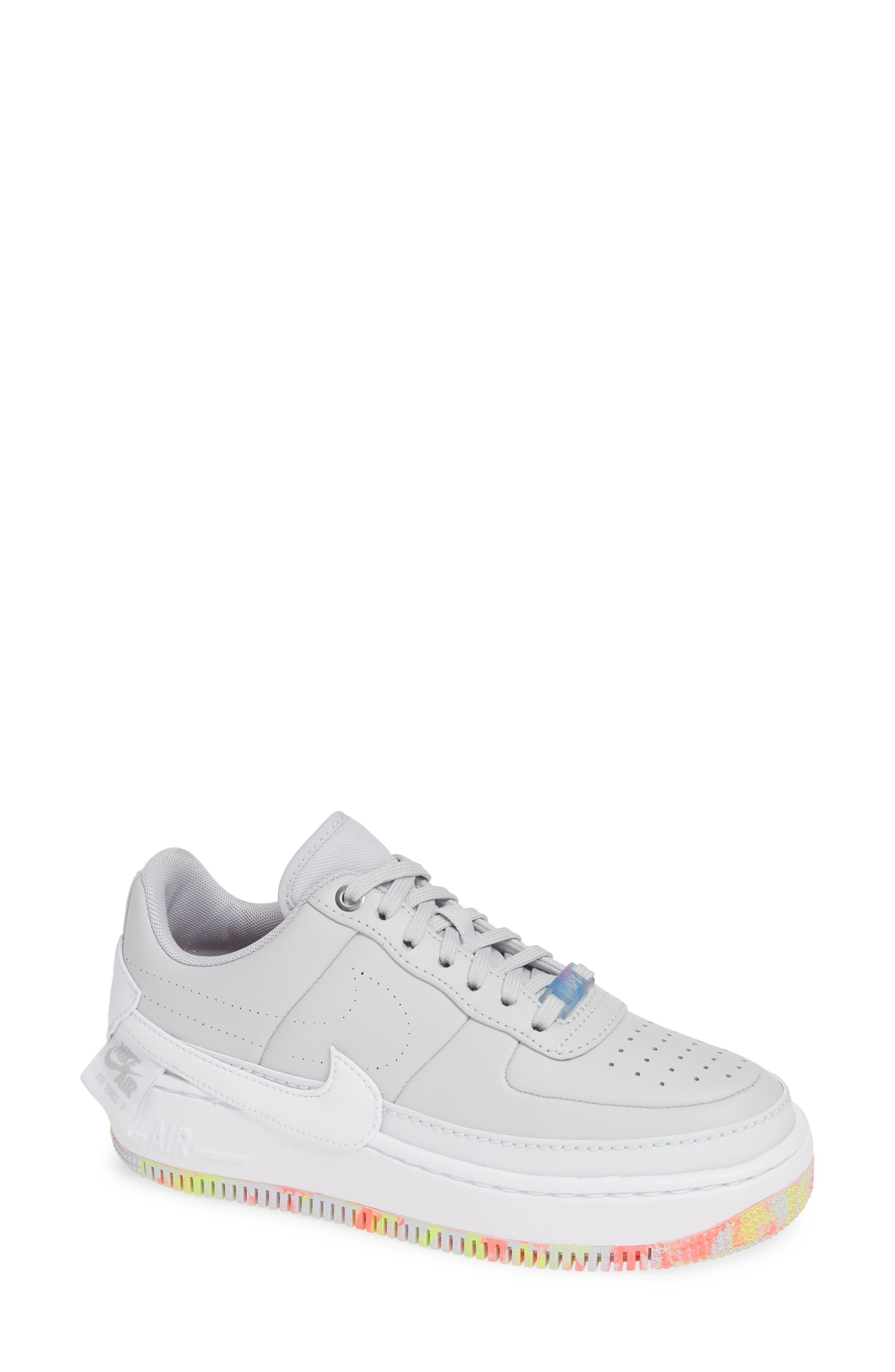 Air Force 1 Jester XX Print Sneaker,                             Main thumbnail 1, color,                             020