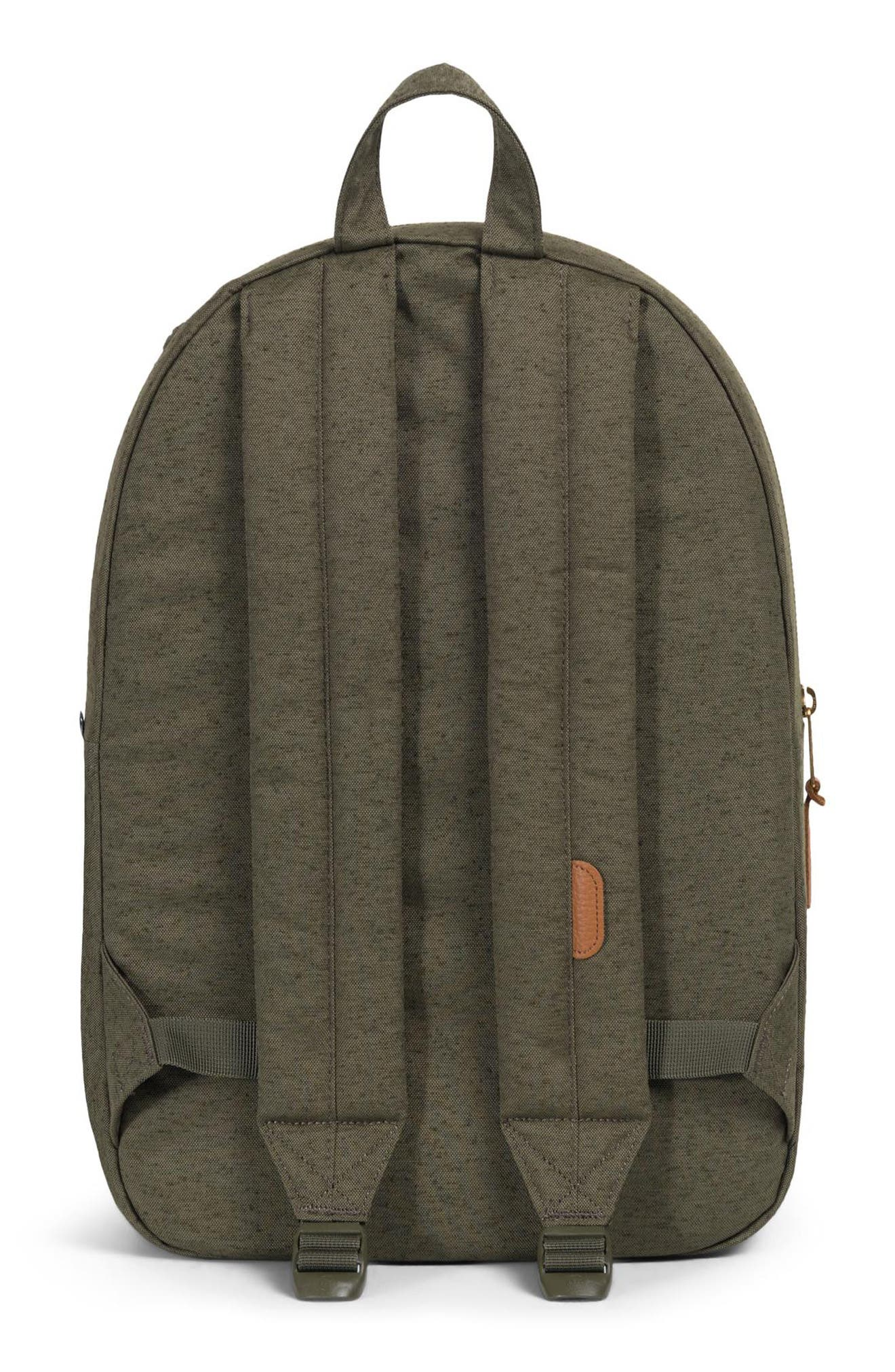 Settlement Backpack,                             Alternate thumbnail 3, color,                             IVY GREEN SLUB