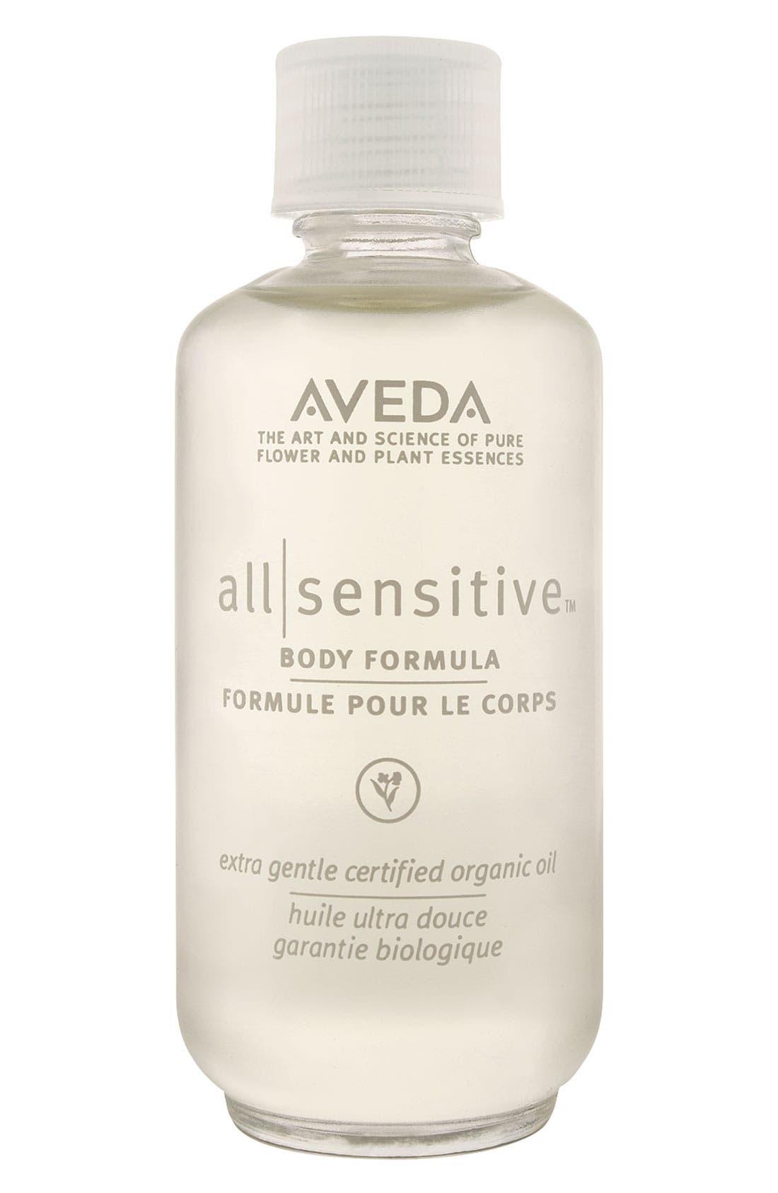all-sensitive<sup>™</sup> Body Formula,                         Main,                         color, NO COLOR