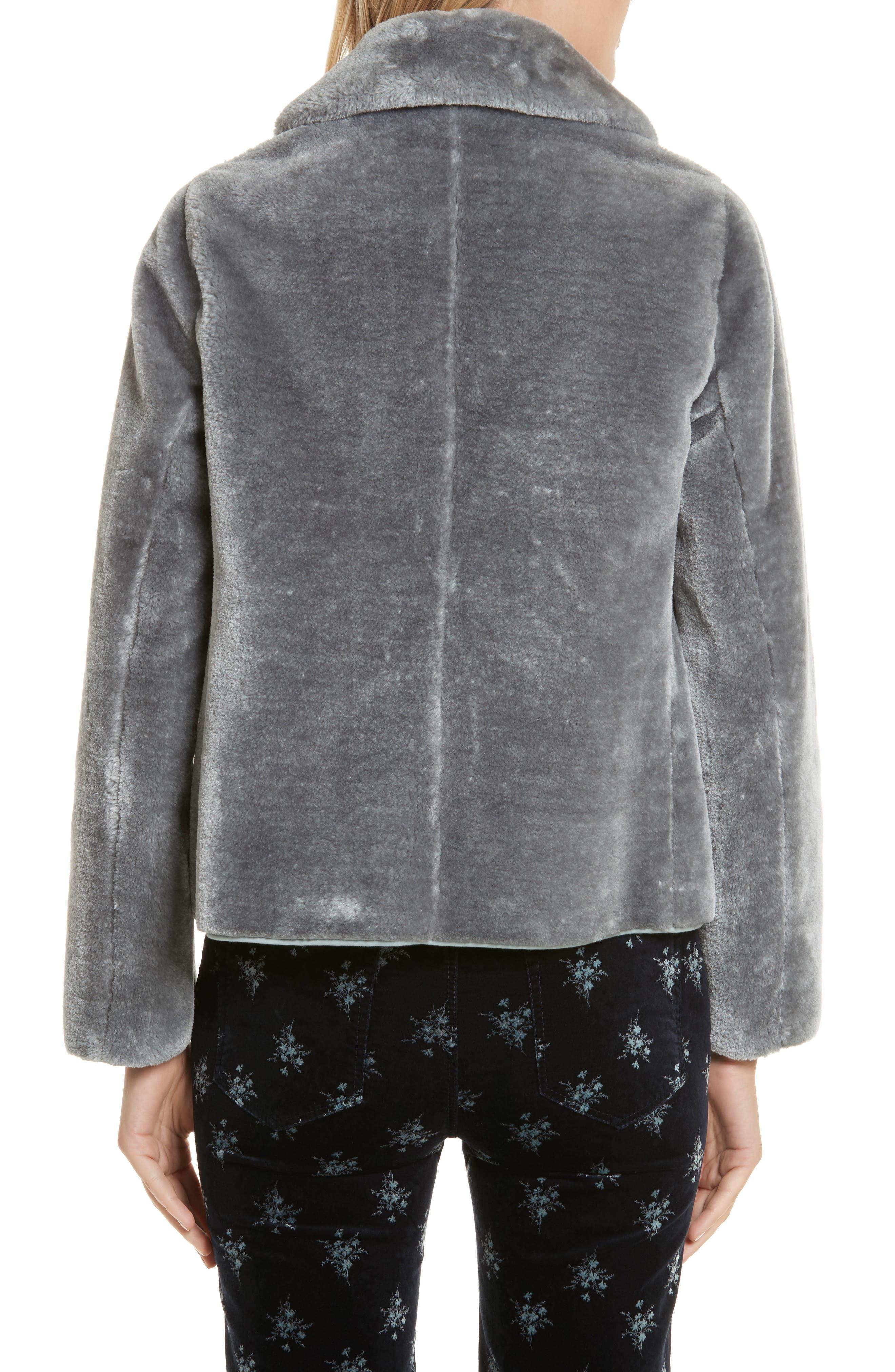 Faux Fur Jacket,                             Alternate thumbnail 2, color,                             063