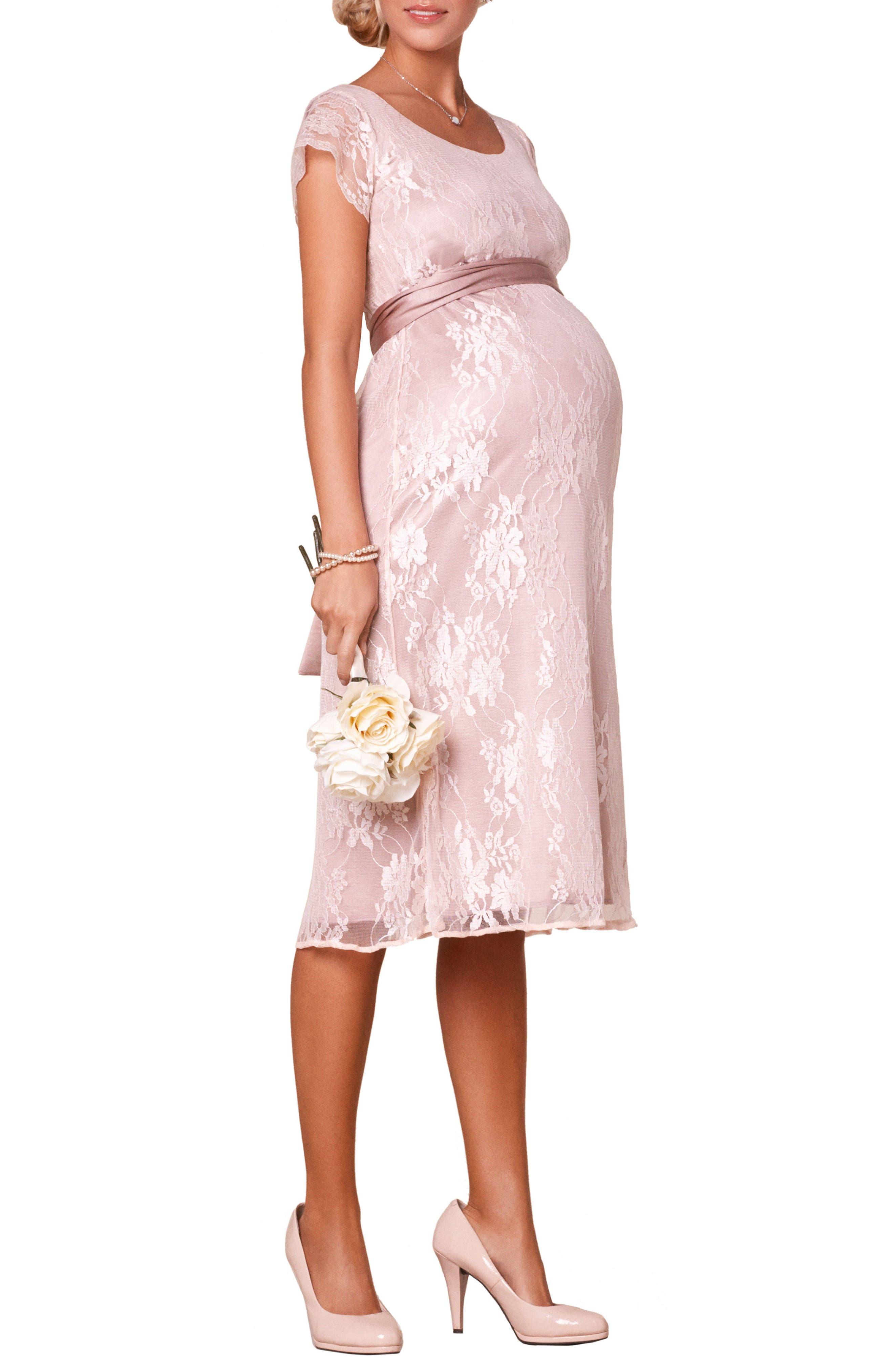 April Maternity/Nursing Dress,                         Main,                         color, BLUSH