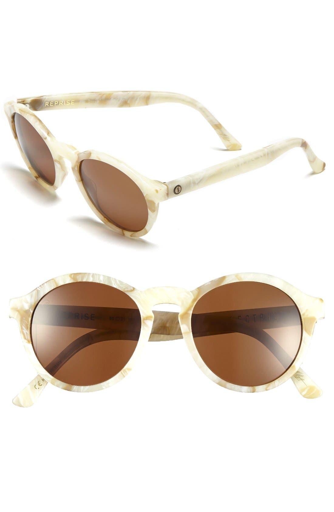 'Reprise' 50mm Round Sunglasses,                             Main thumbnail 2, color,